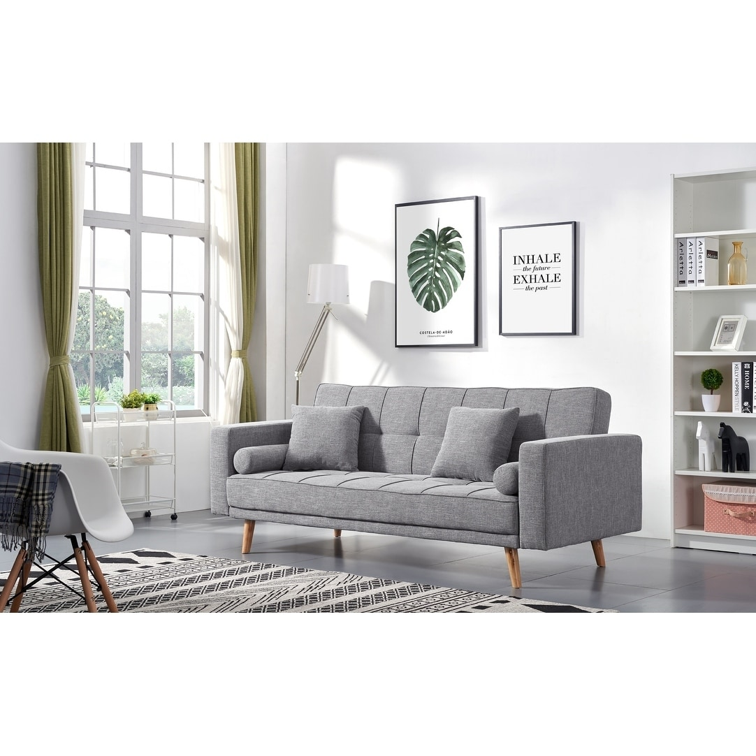 Scandinavian Furniture Bed Luca Home Alex Scandinavian Style Sofa Bed