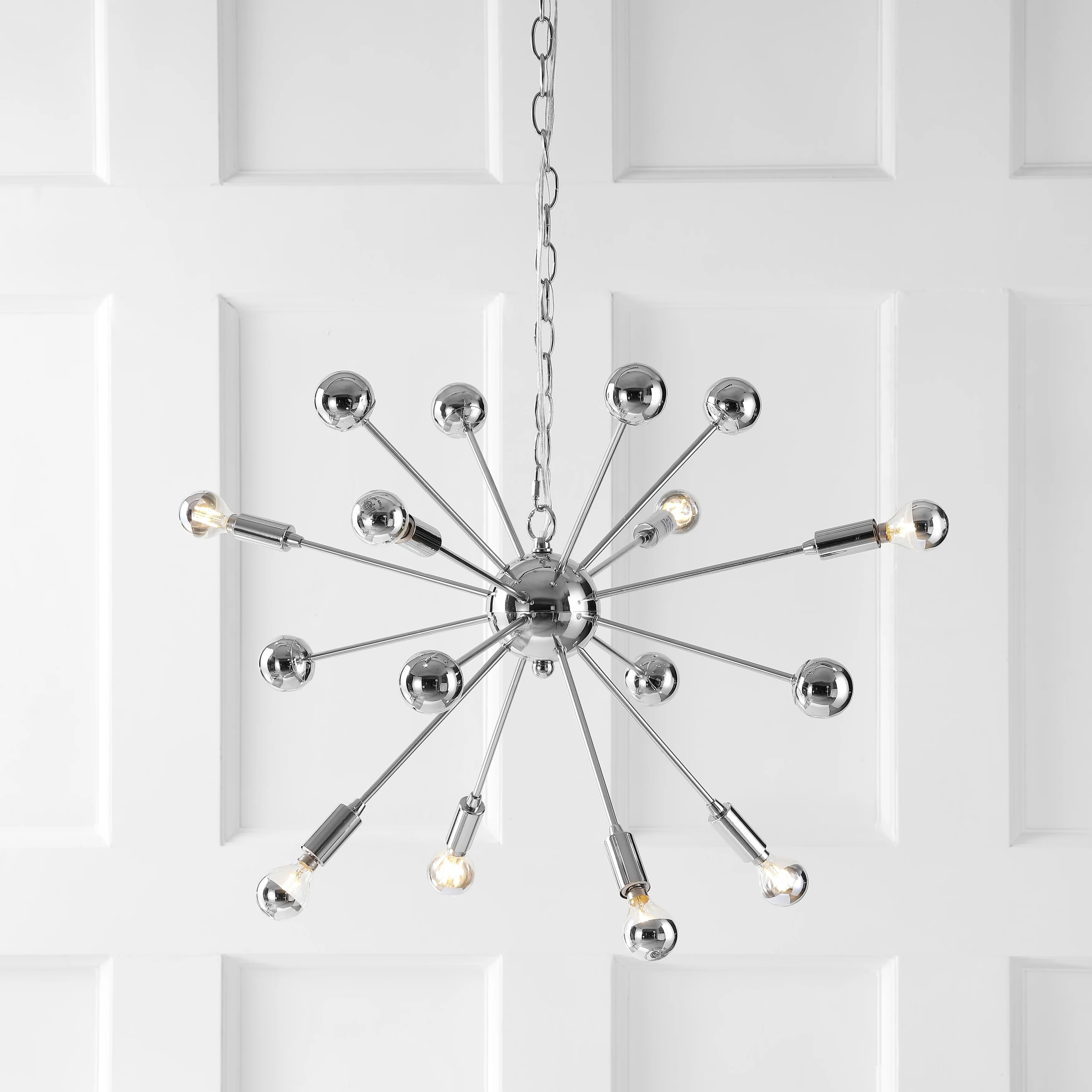 Led Chandelier Glenn 8 Light 22 5