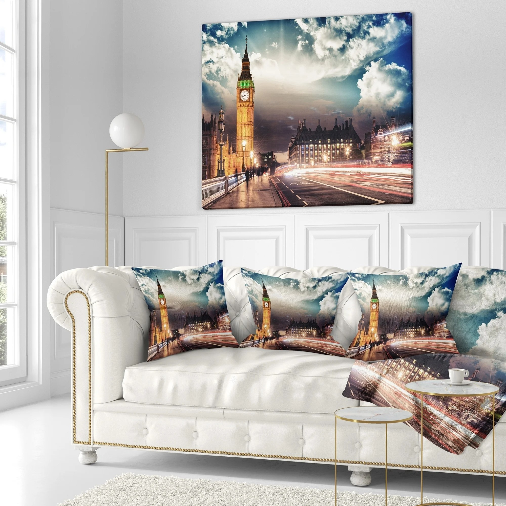 Big Couch Throw Designart Big Ben Uk From Westminster Bridge Cityscape Photo Throw Blanket