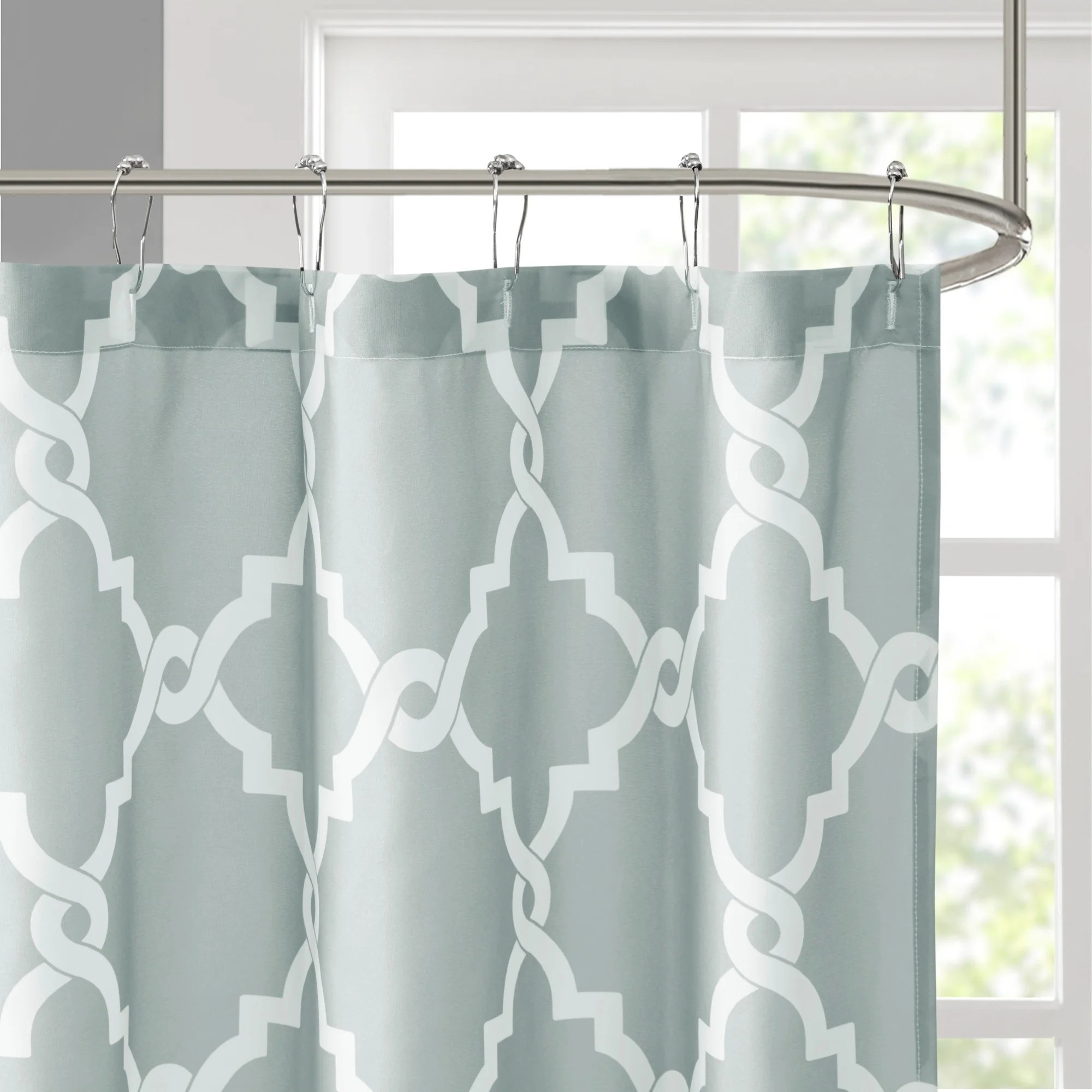 108 Inch Wide Shower Curtain Madison Park Concord Shower Curtain