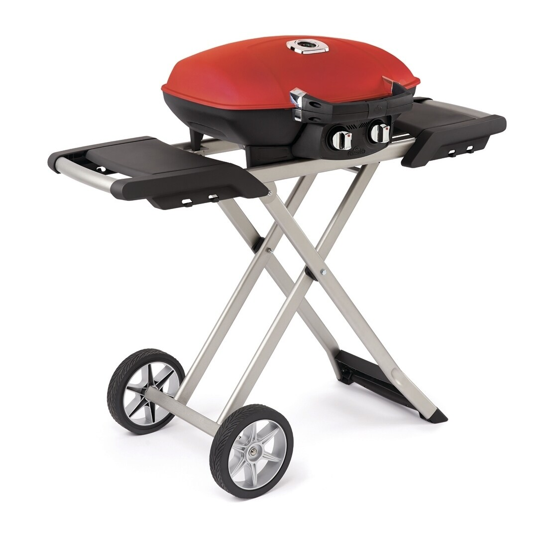 Landmann Gasgrill Portable Travelq 285 Portable Gas Grill And Scissor Cart With Griddle