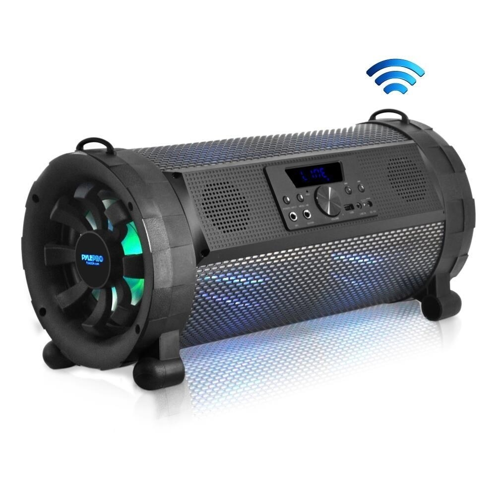 Box Bluetooth Pyle Pbmspg190 300w Wireless Portable Street Blaster Bluetooth Boom Box Speaker Stereo System With Built In Led Lights