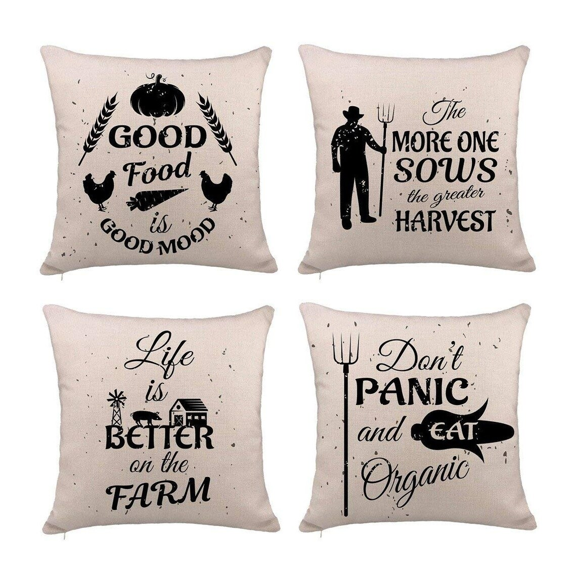 Sofa Quotes Farmhouse Quotes Pillow Cover Cushion Case For Sofa 18