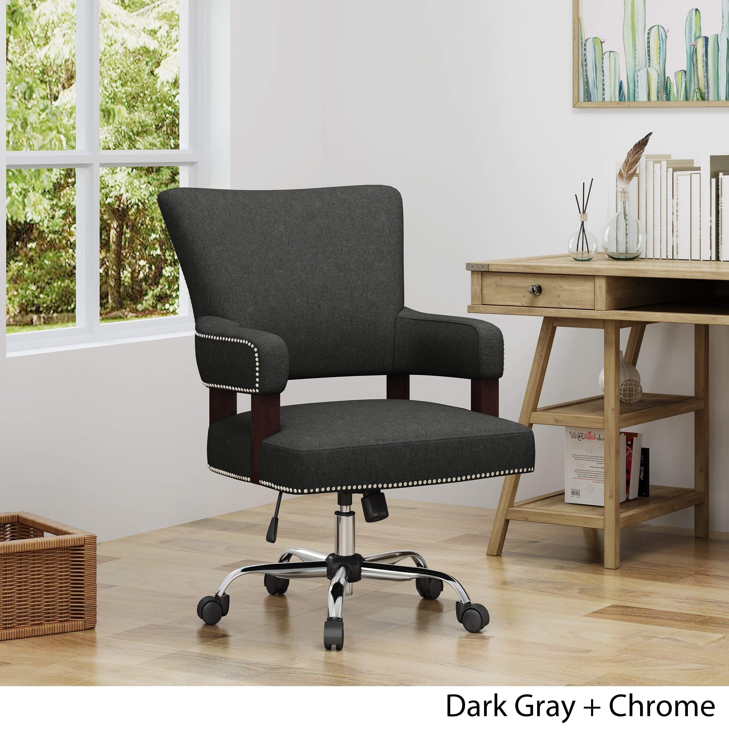 Home Office Club Christopher Knight Home Bonaparte Traditional Home Office Chair
