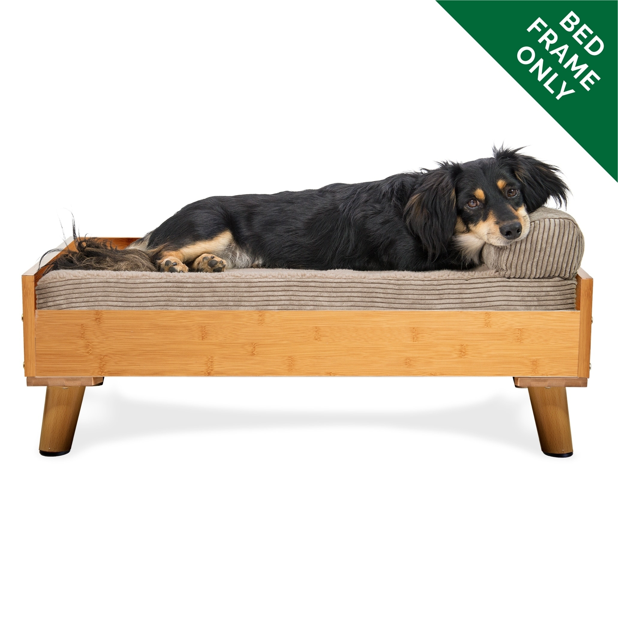 Dog Beds Pet Furhaven Bed Frame For Sofa Style And Deluxe Mattress Dog Beds