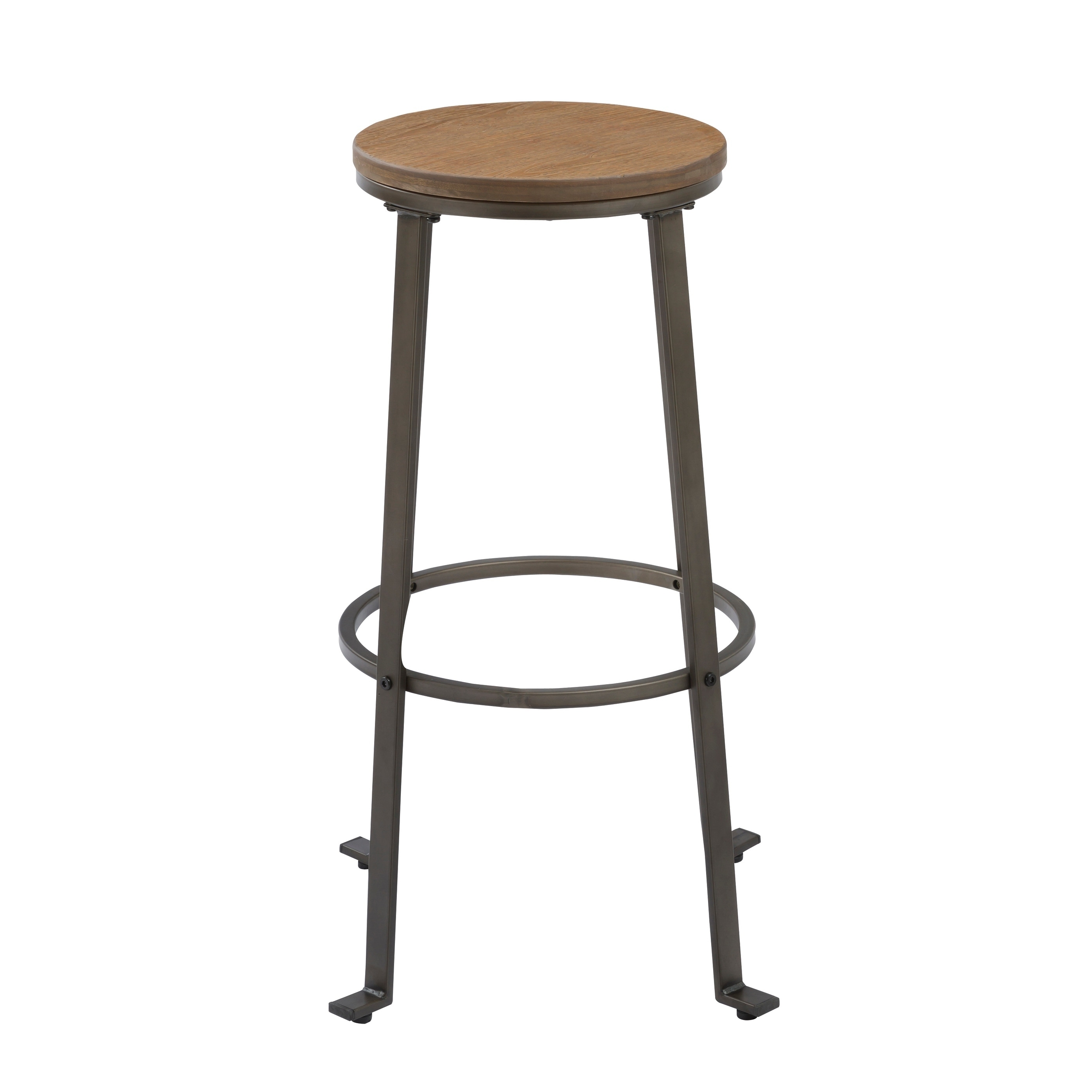 Bar Stool Height Industrial Rugged 30