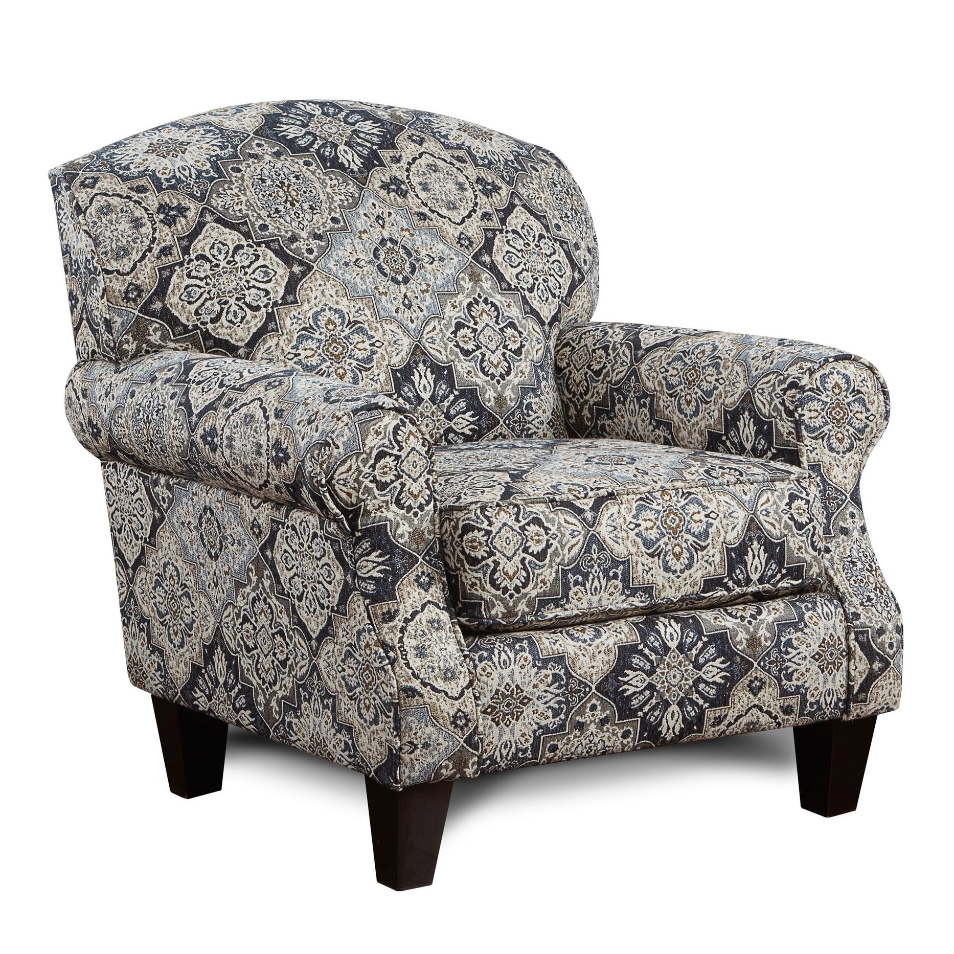 Black And White Accent Chair Sambuca Black White Grey Accent Chair