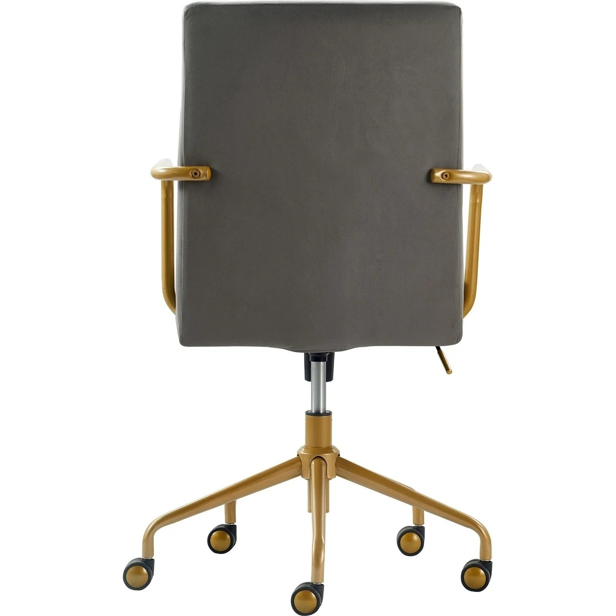 Grey Desk Chair Elle Decor Giselle Gold Desk Chair