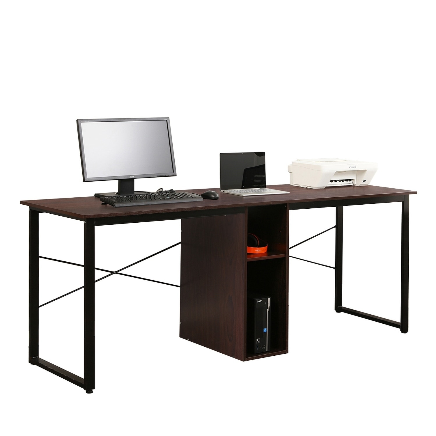 Two Person Workstation Desk Tec 2 Person Workstation Commercial
