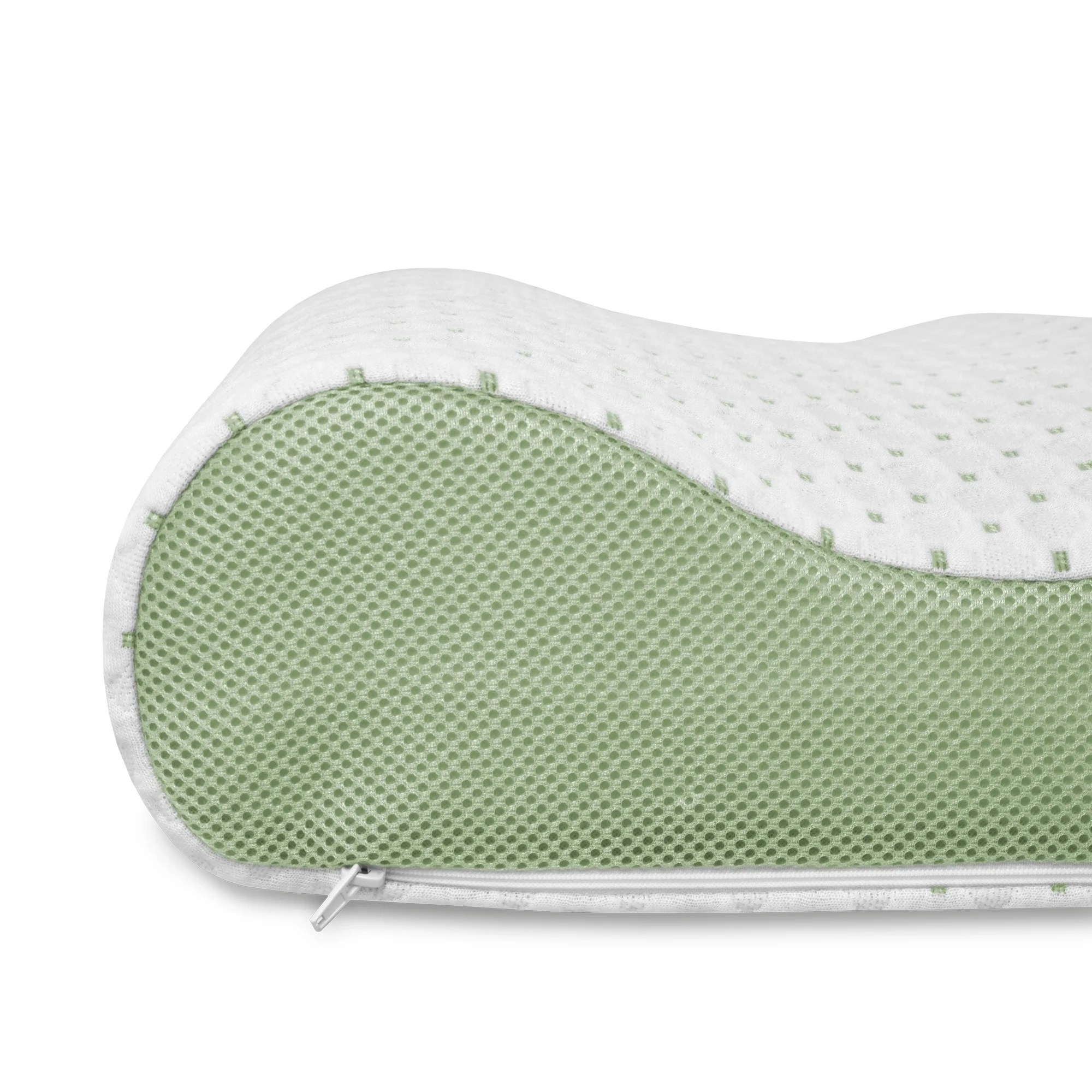 Bed Overlay Sensorpedic Sensorcool Gel Overlay Contour Bed Pillow White