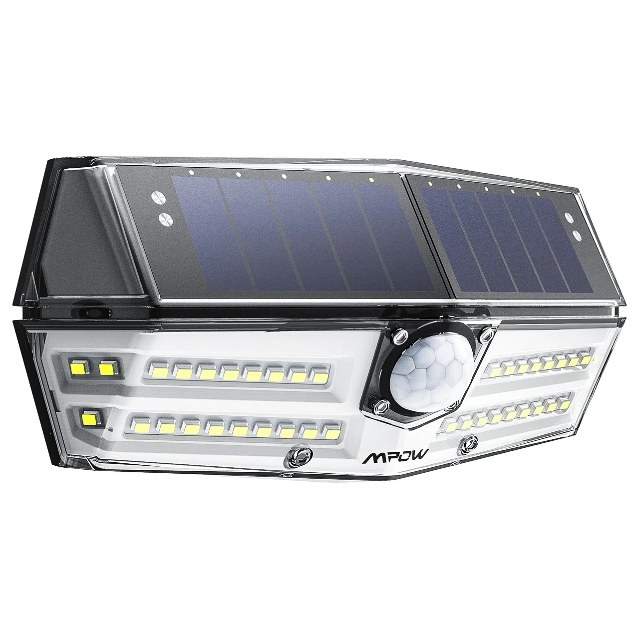 Led Solar Mpow Premium 40 Led Solar Lights Outdoor Motion Sensor Lights With 24 5 High Efficient Solar Panel