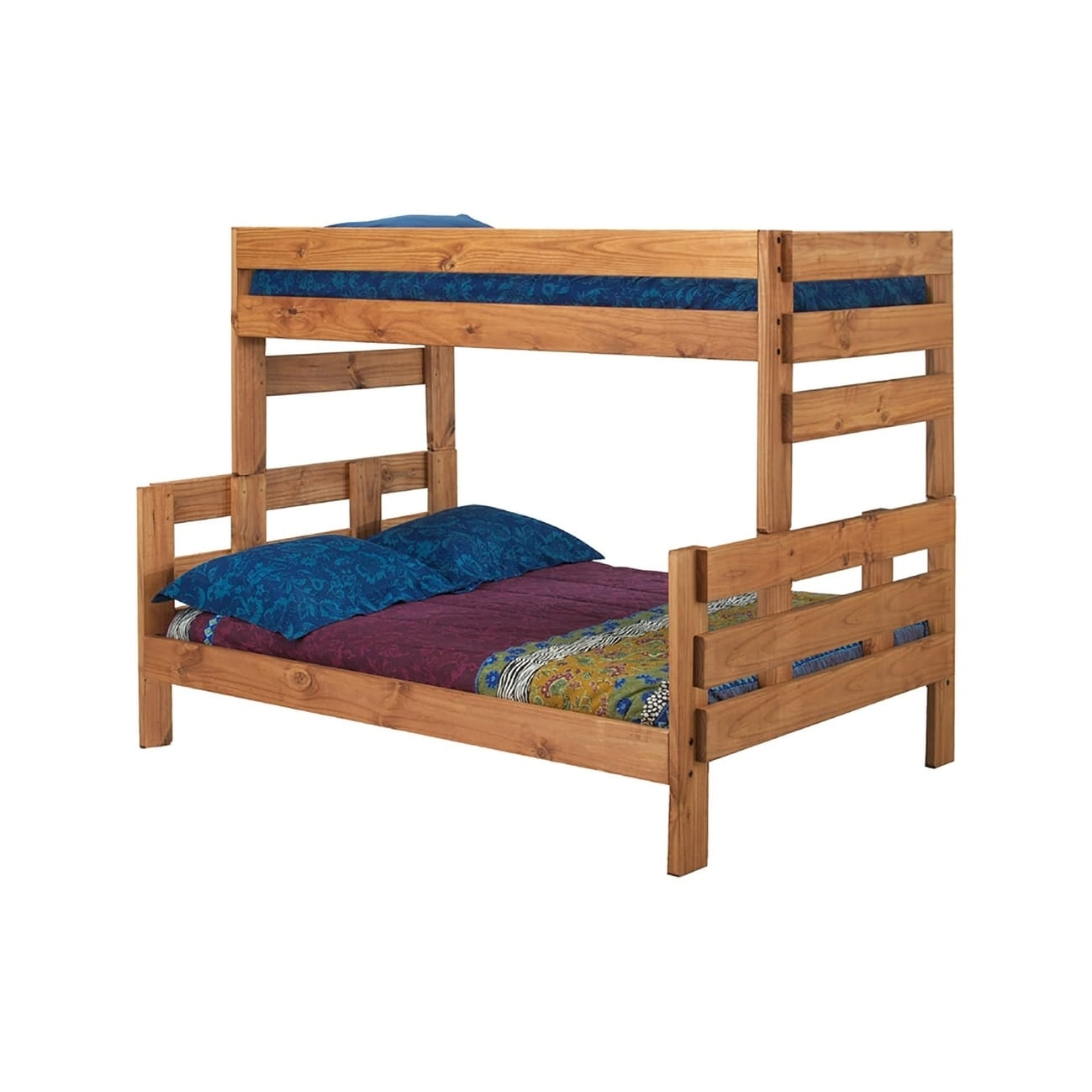 Stackable Twin Beds Ginger Stain Twin Over Full Stackable Bunk Bed