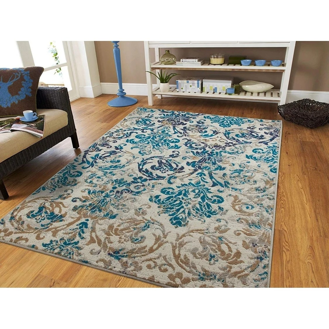 Teal Color Area Rugs Modern Area Rugs Teal Blue Gray