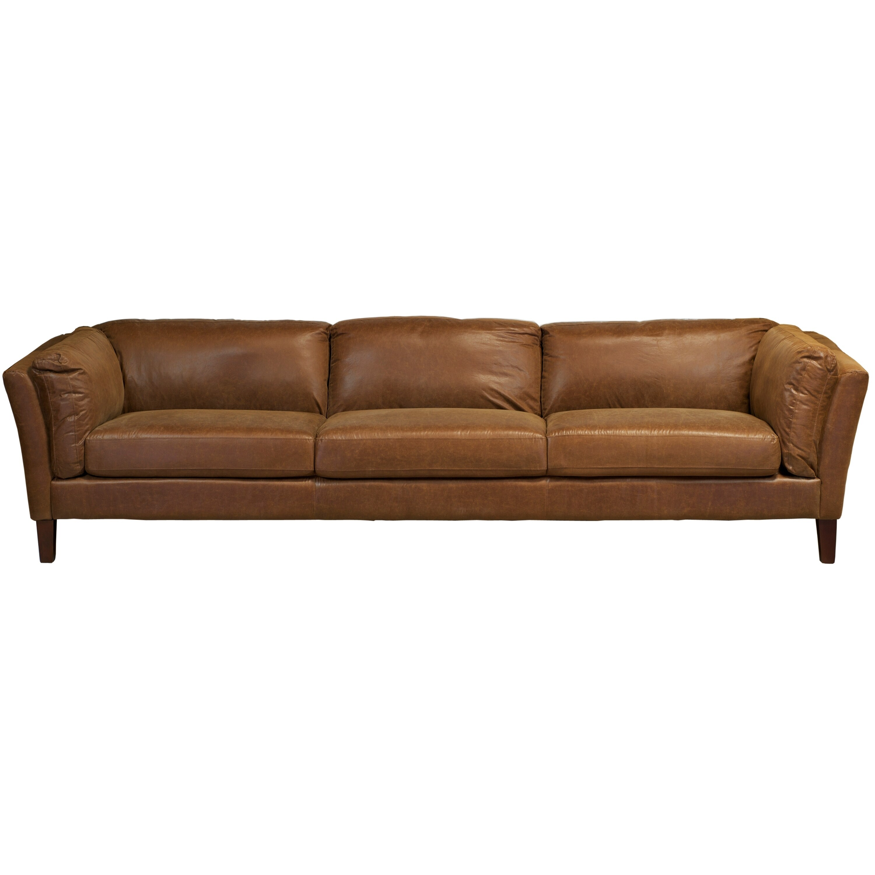 Sofa X Long Crusader 4 Seater Brown Sofa Long