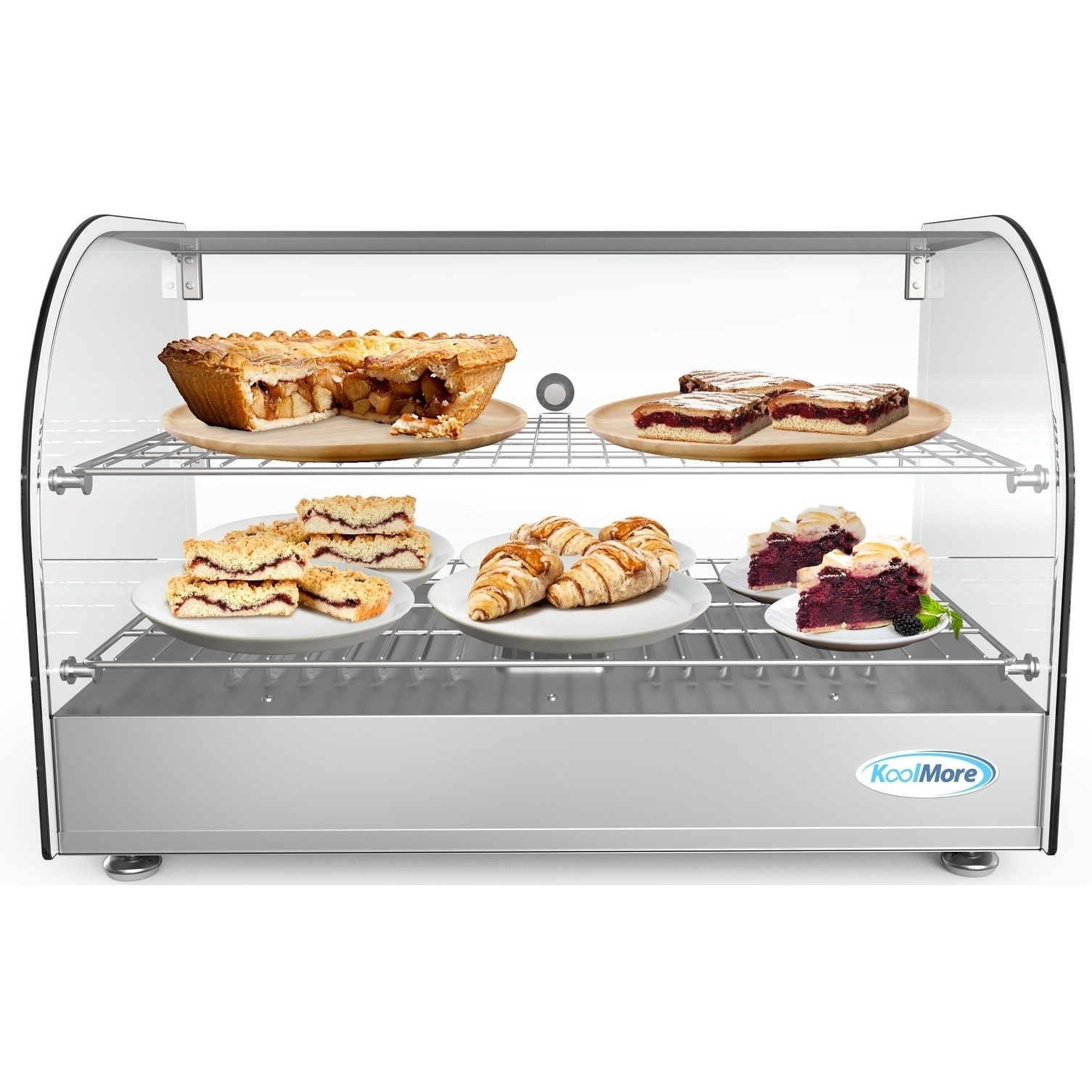 Countertop Food Display Case 22 Inch Commercial Countertop Food Warmer Display Case Merchandiser 1 5 Cu Ft N A