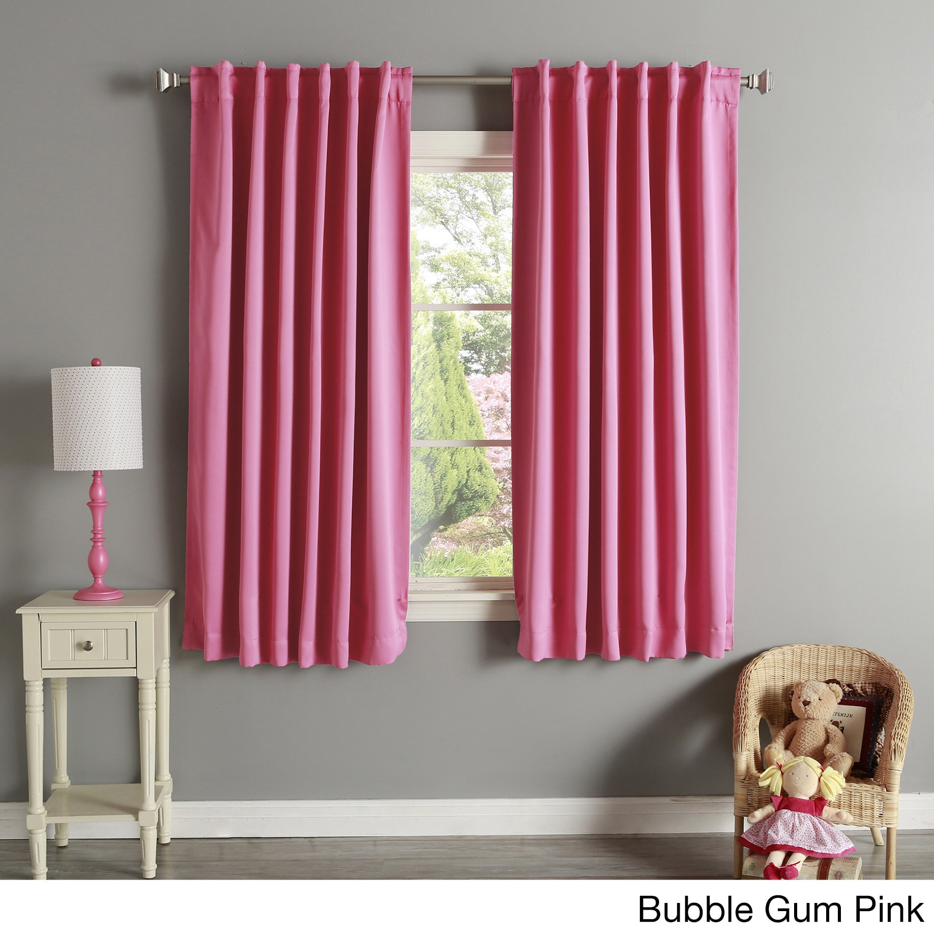94 Inch Blackout Curtains Aurora Home Solid Insulated Thermal 63 Inch Blackout Curtain Panel Pair