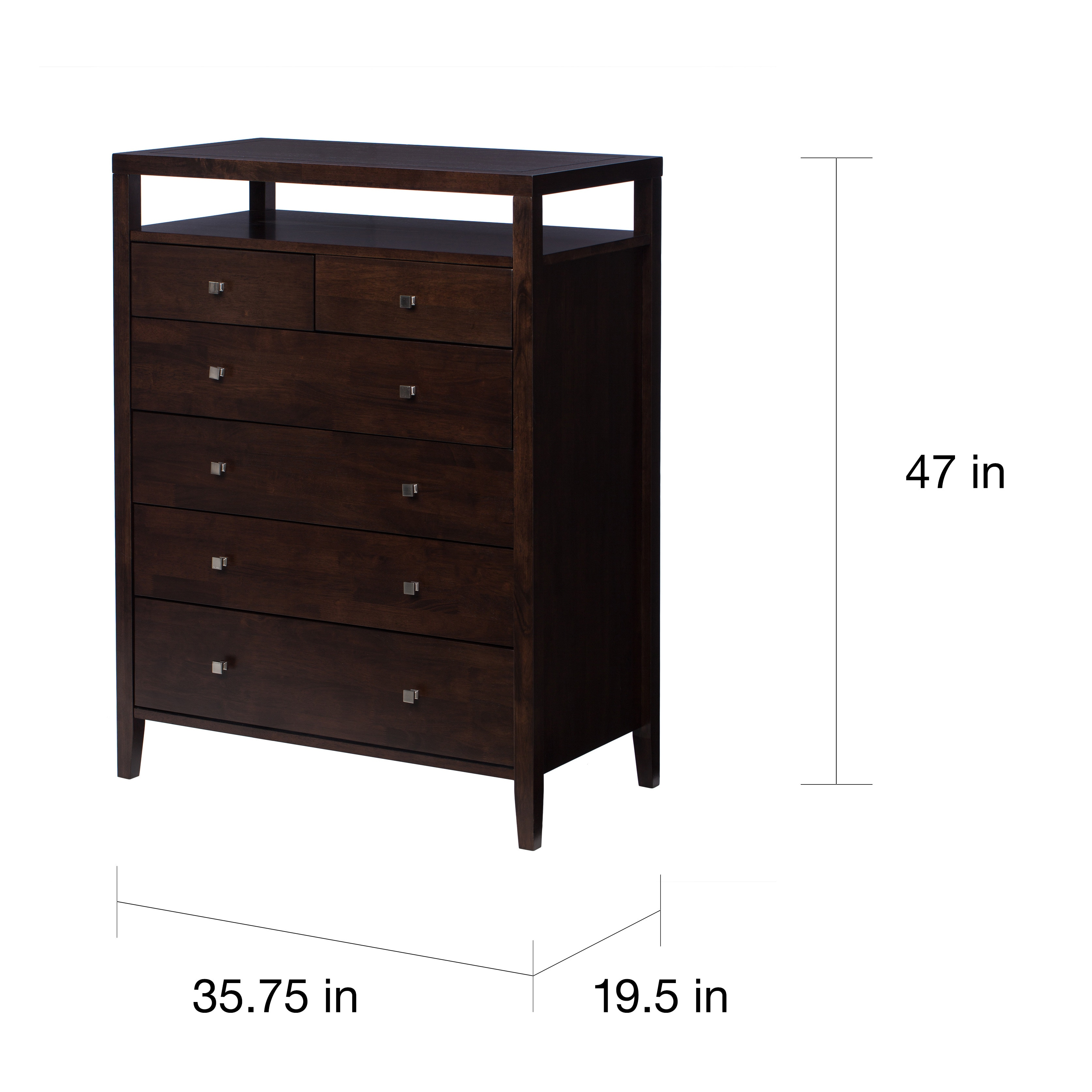 6 Drawer Chest Of Drawers Strick Bolton Aristo 6 Drawer Chest