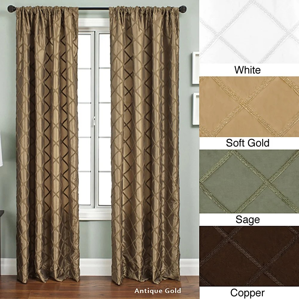 108 Inch Curtain Panels Ashford Rod Pocket 108 Inch Curtain Panel 55 X 108