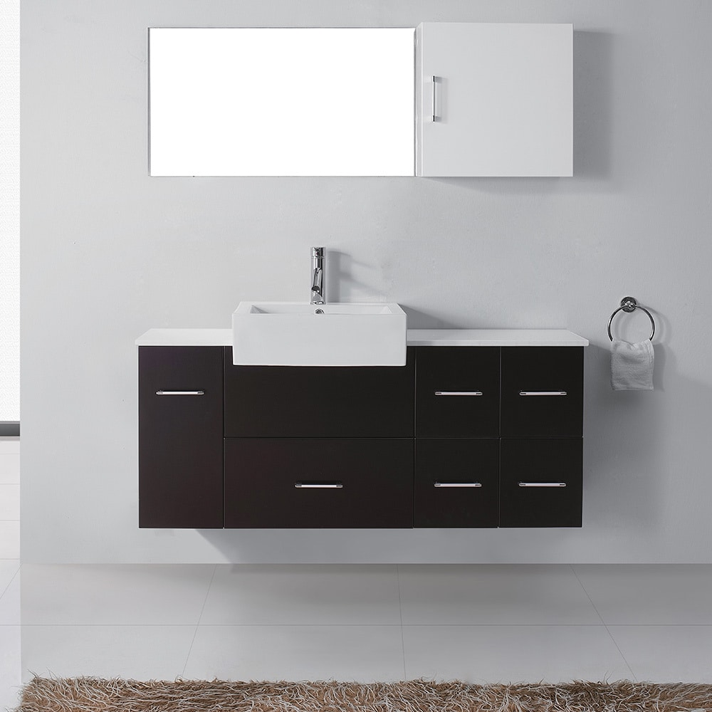 56 Bathroom Vanity Virtu Usa Hazel 56 Inch Single Sink Bathroom Vanity Set
