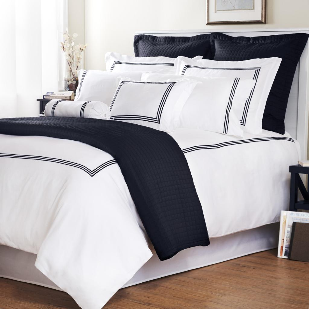 Where To Buy Nice Duvet Covers Navy Stripe Baratto Stitch Full Queen Size 3 Piece Duvet Cover Set