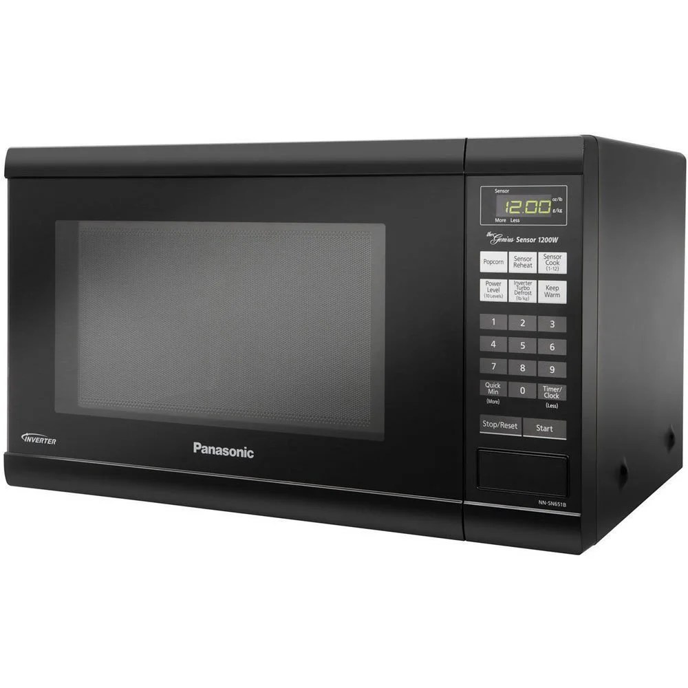 Panasonic Nn Sn651b Countertop Microwave Oven With Inverter Technology Black Overstock 6499890