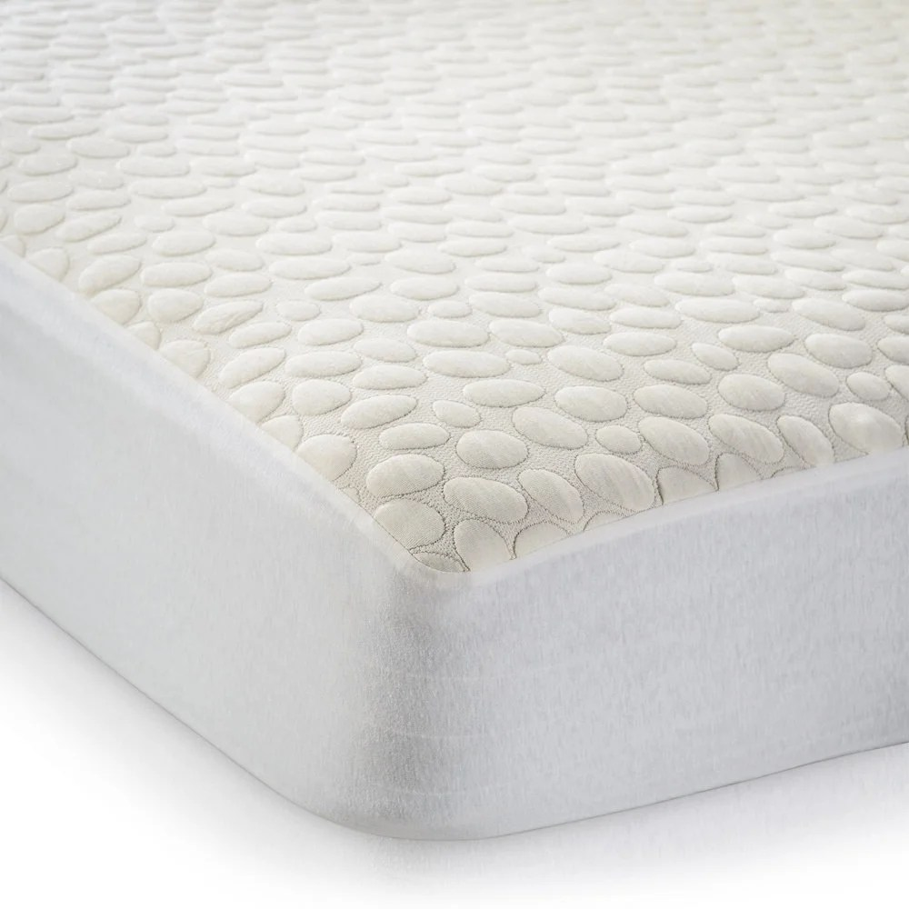 Bed Bugs Mattress Cover Christopher Knight Home My Little Nest Organic Waterproof Crib Mattress Cover White