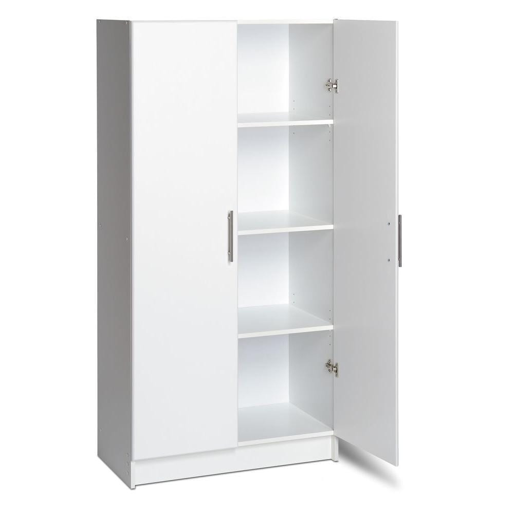 Storage Closet Prepac Winslow Elite 32 Inch Storage Cabinet Multiple Finishes