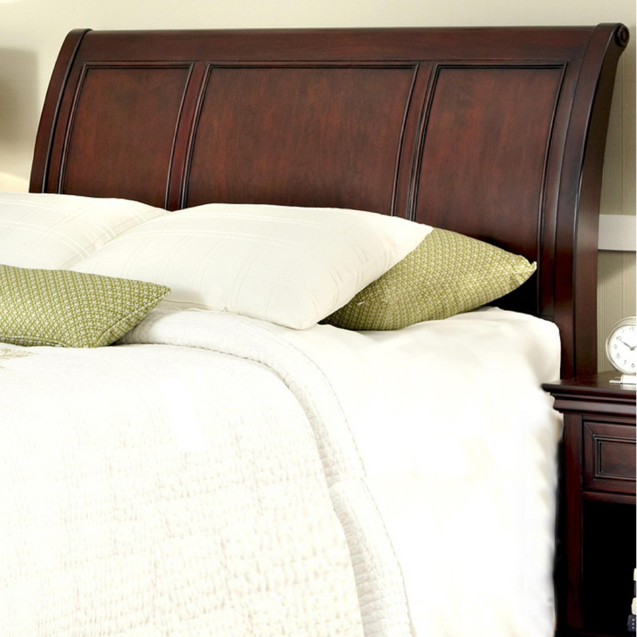 Sleigh Bed Headboard Home Styles Cherry Finished Mahogany King California King Sleigh Headboard
