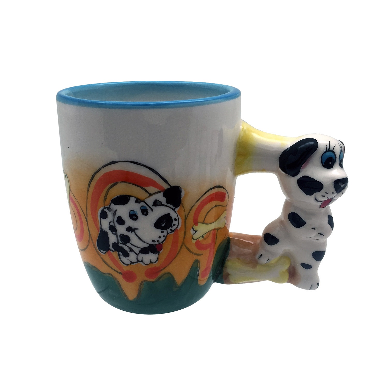 Animal Coffee Cups Threestar Assorted Animals Ceramic Coffee Mugs Tea Cups Set Of Four
