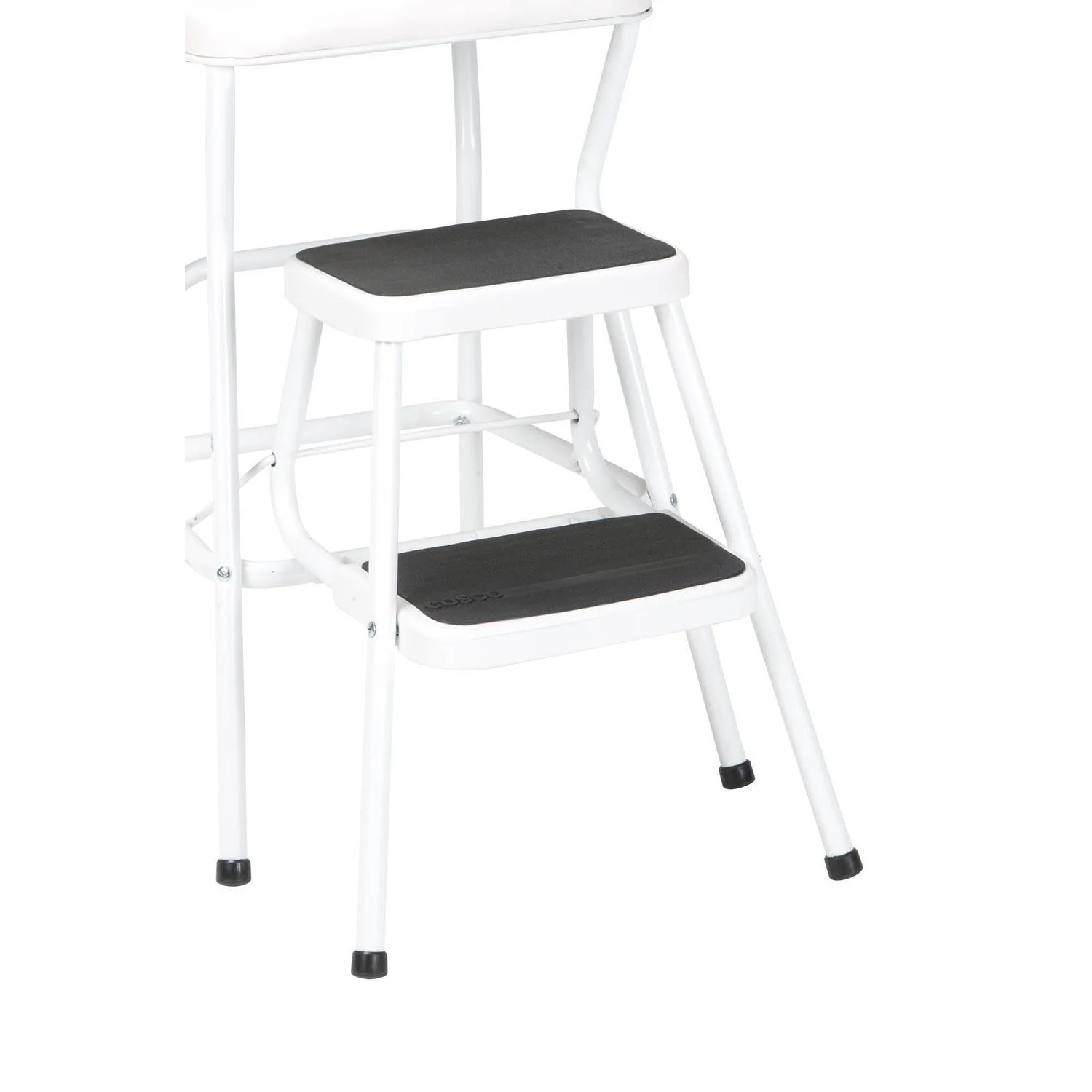 Metal Step Stool Cosco Retro White Counter Chair Step Stool
