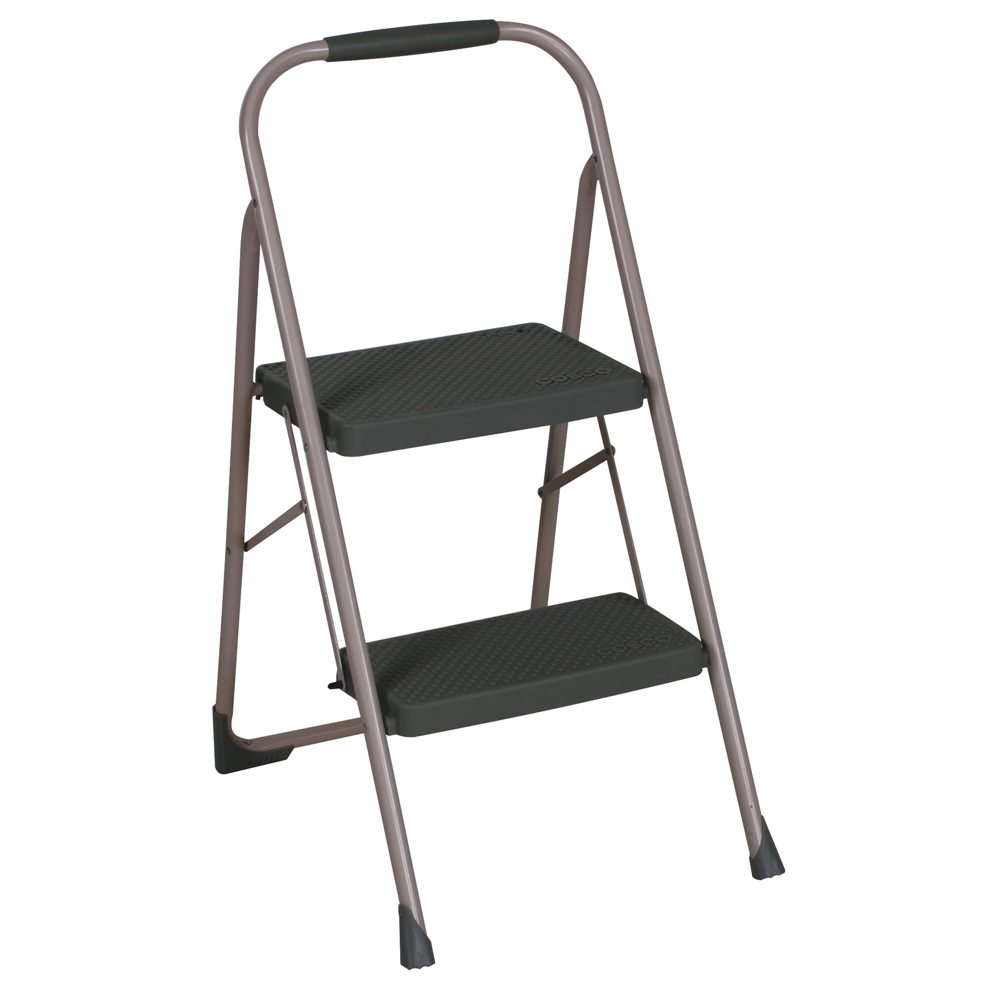 Metal Step Stool Cosco Two Step Big Step Folding Steel Step Stool