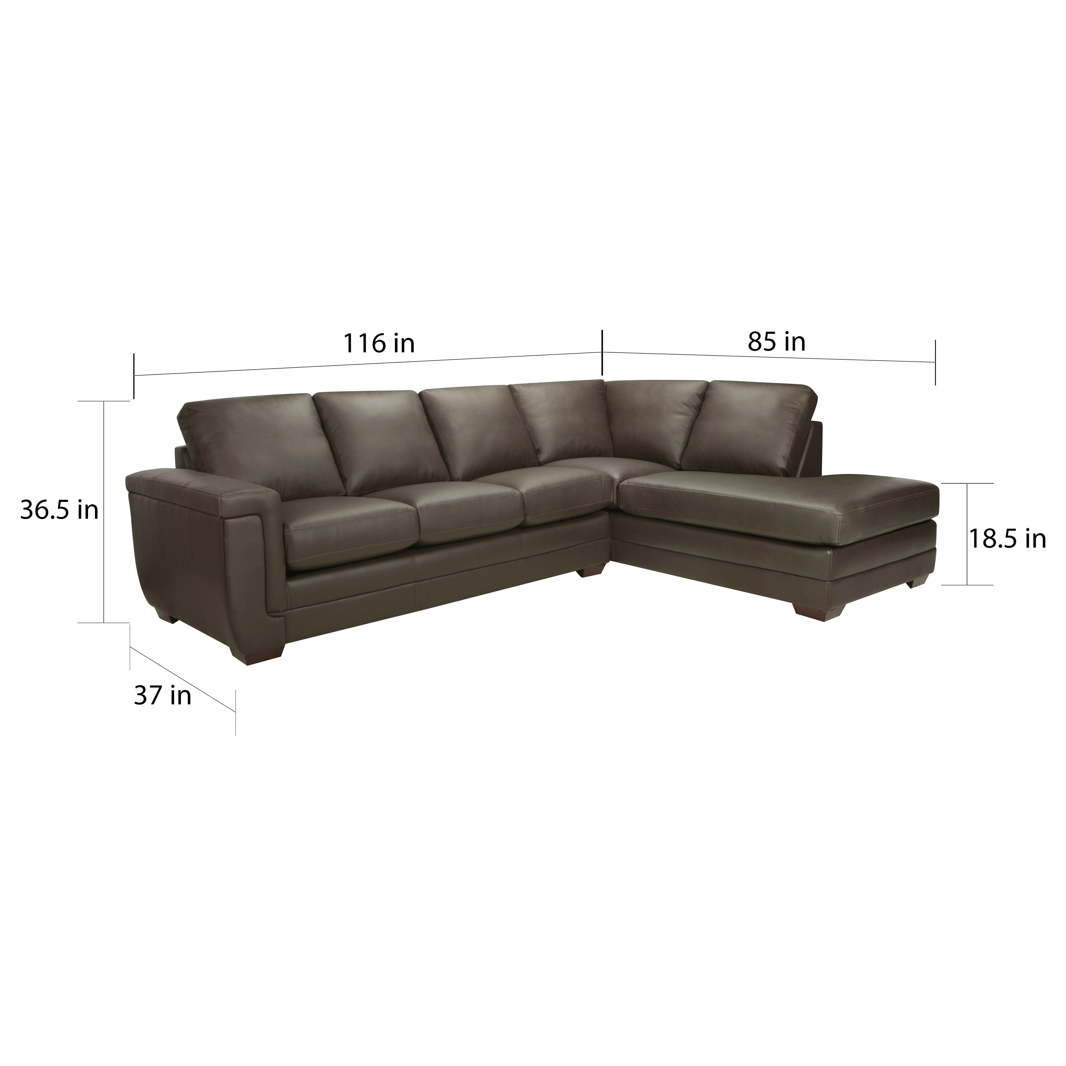Genuine Leather Sectional Canada Porsche Top Grain Italian Leather Sectional Sofa