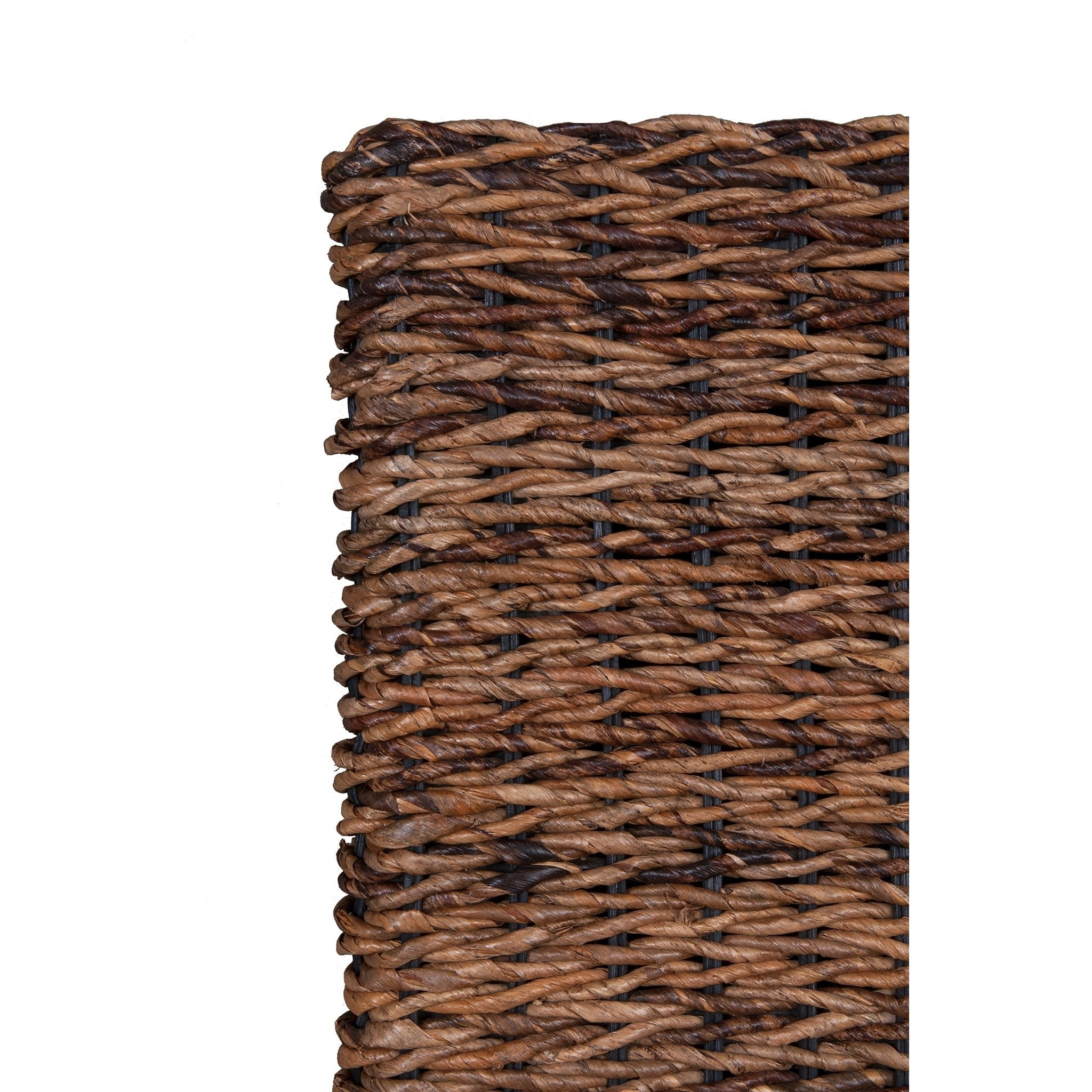 Abaca Mattress East At Main S Meticulously Woven Brown Abaca Weave Headboard