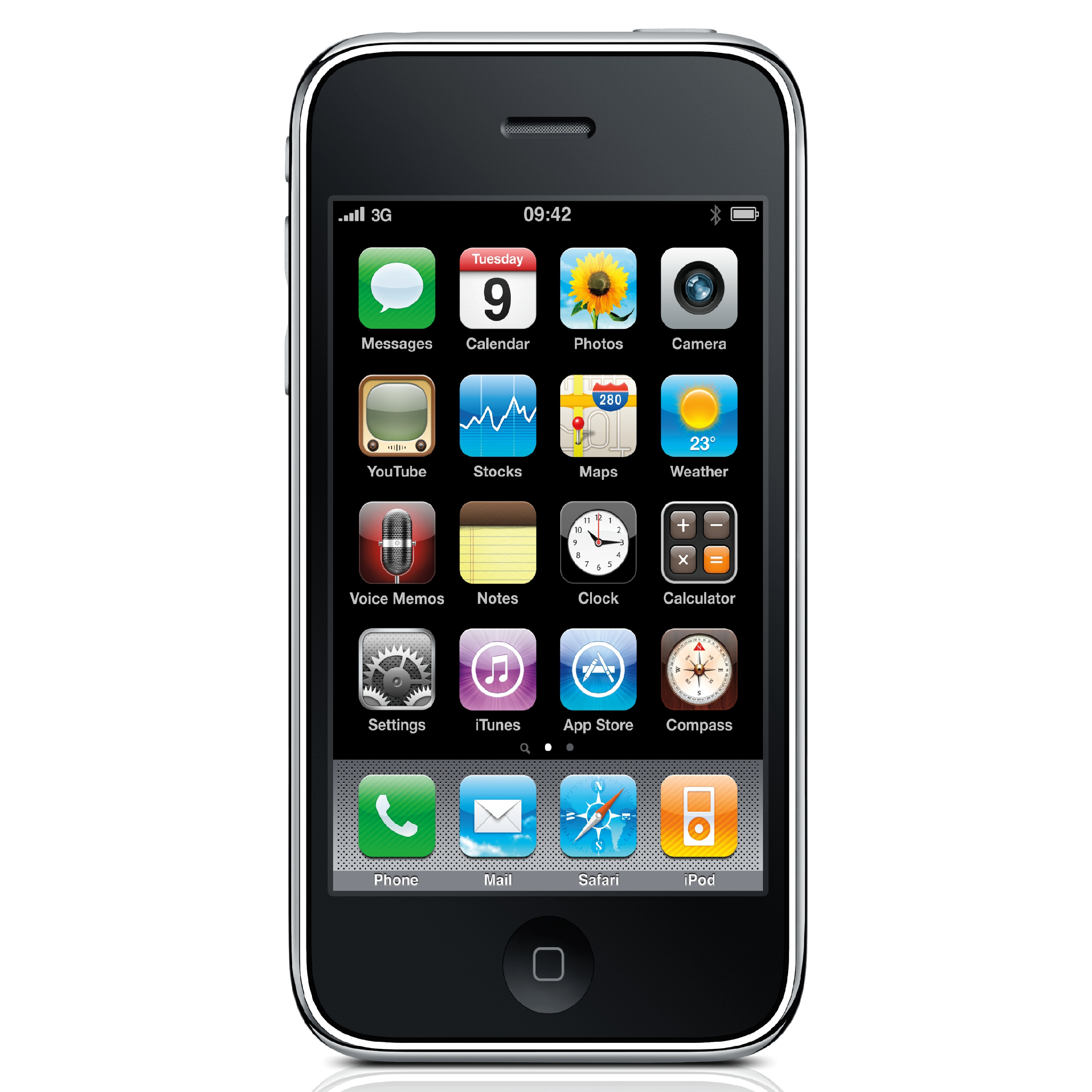 Iphone 3gs Apple Iphone 3gs 8gb Oem At T Gsm Unlocked Cell Phone Black
