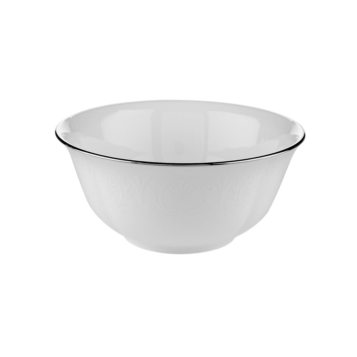 Bowl For Fruit Lenox Hancock Platinum White 9 Ounce Fruit Bowl