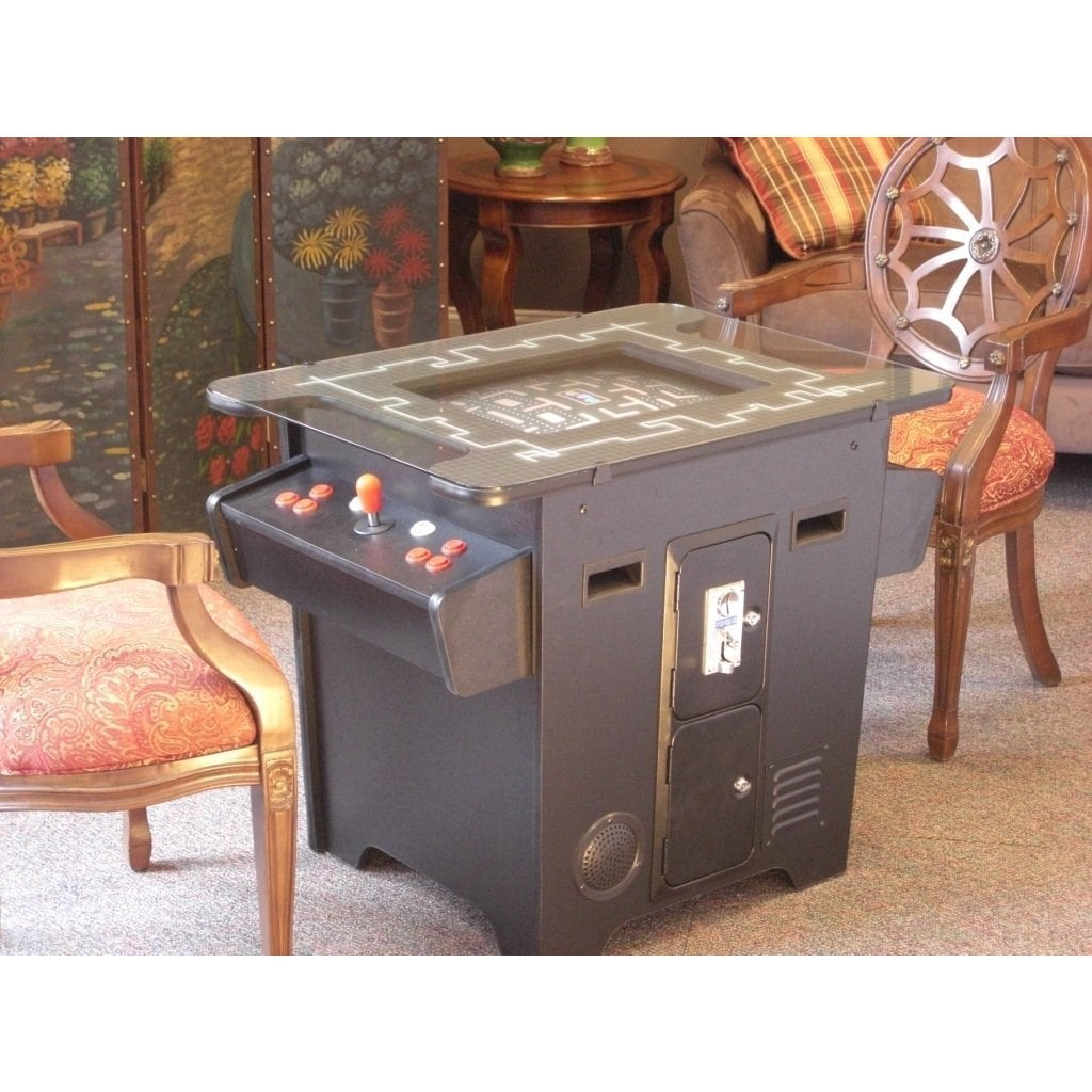 Classic Table Arcade Games Classic Arcade Cocktail Style Dual Player Game Table With 60 Games Built In
