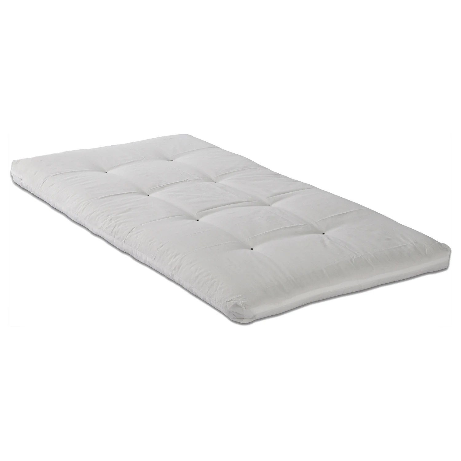 Double Bed Mattress Cover Somette 5 Inch Double Sided Cotton Foam Youth Twin Size Memory Foam Mattress White