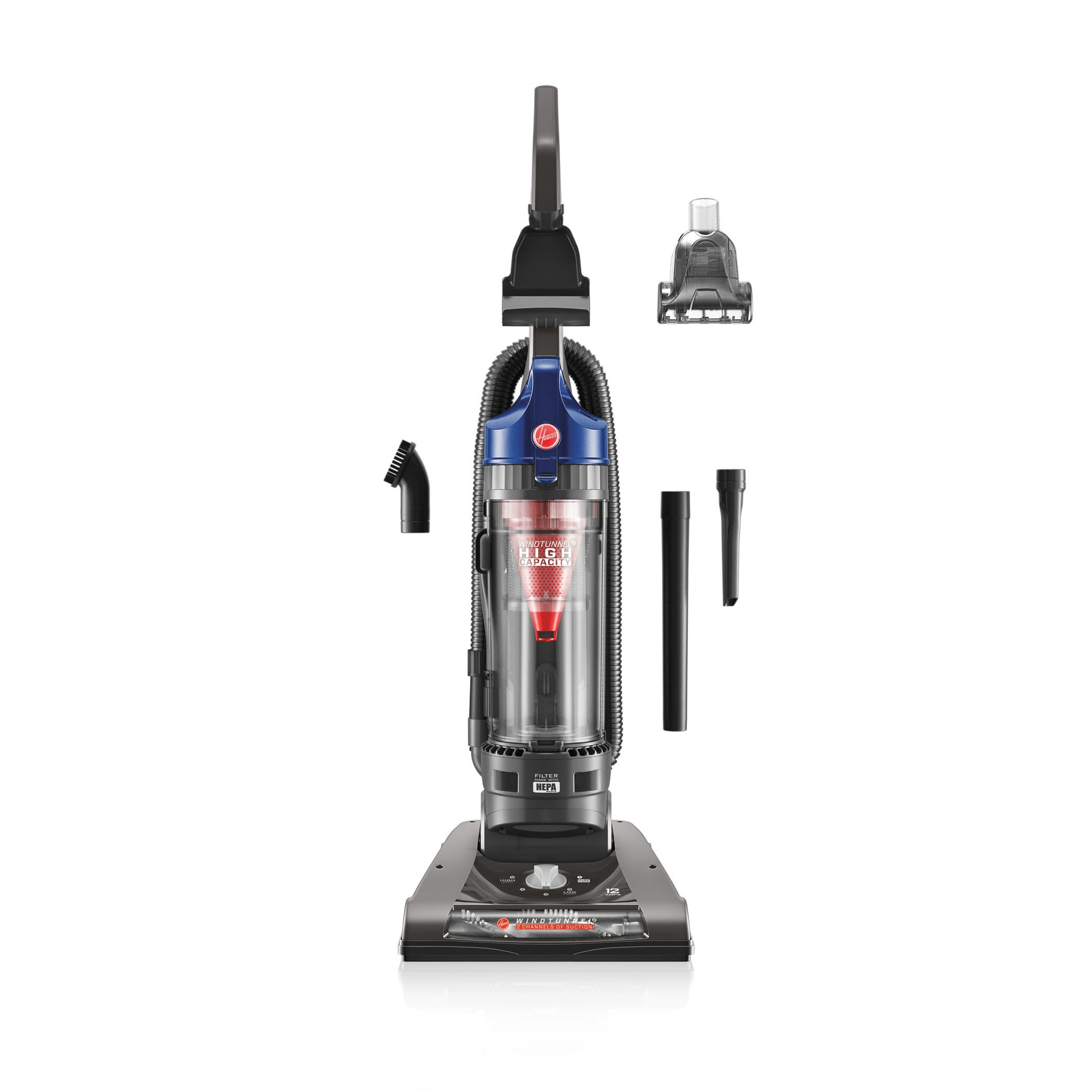 Garage Hoover Vacuum Hoover Uh70805 Windtunnel 2 High Capacity Upright Cobalt Blue Vacuum