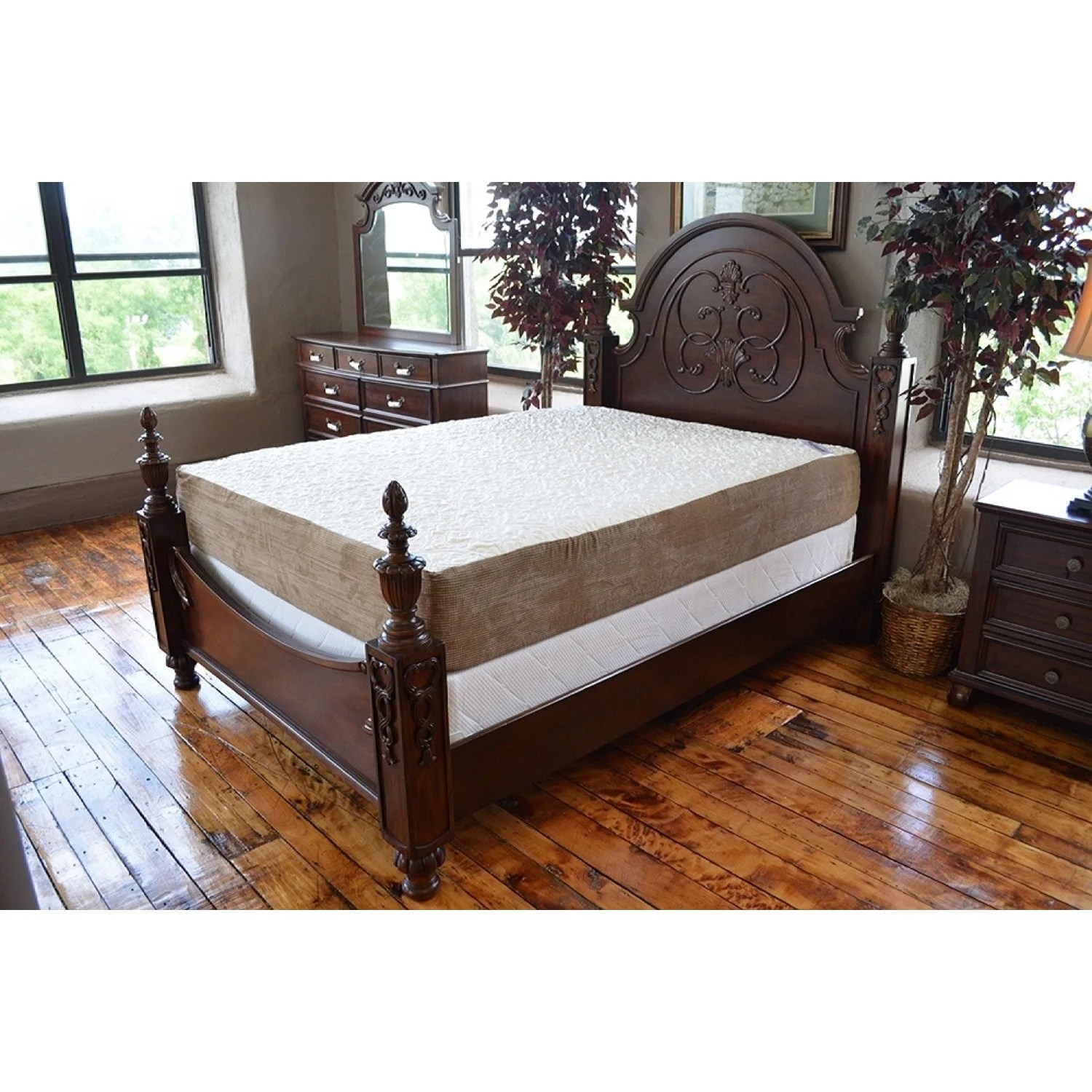 Snooze Bunk Beds Better Snooze Palatial Luxury 14 Inch California King Size Gel Memory Foam Mattress