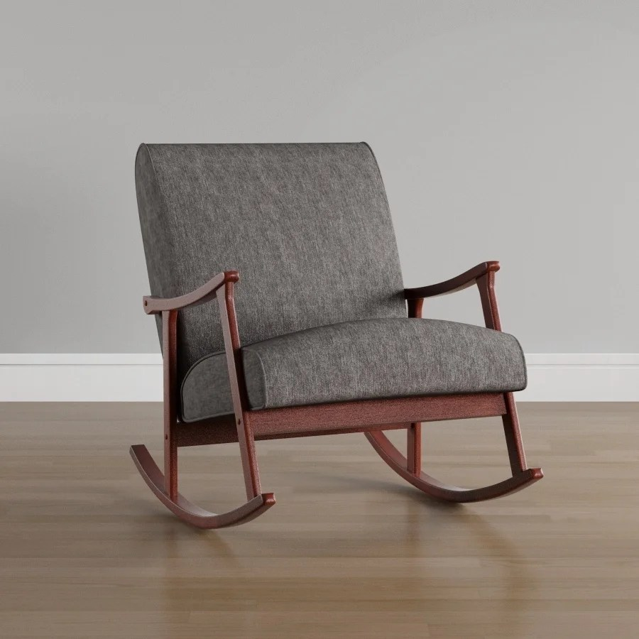 Wood Rocking Chair Overstock Online Shopping Bedding Furniture Electronics Jewelry Clothing More