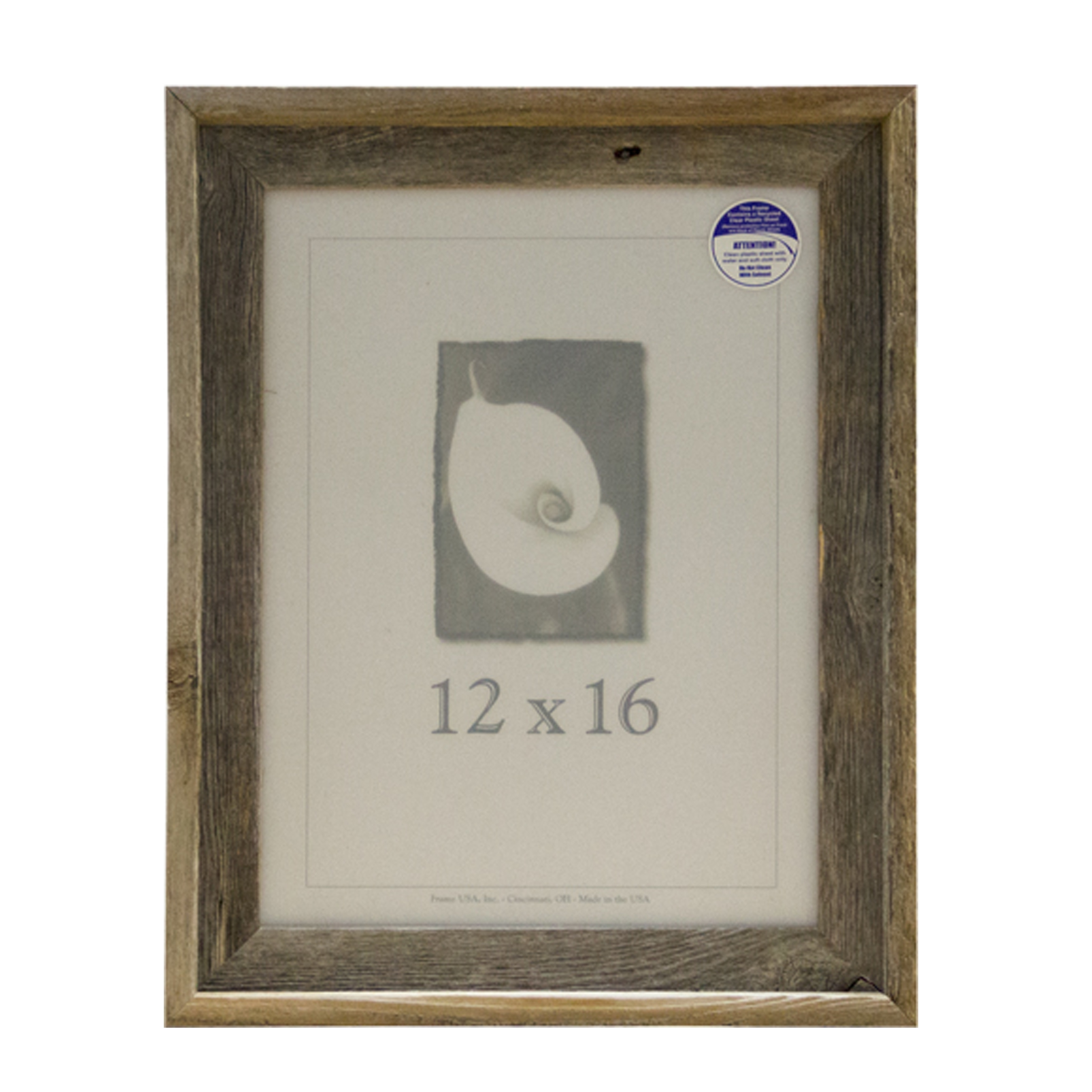 12x16 Barnwood 12x16 Picture Frame