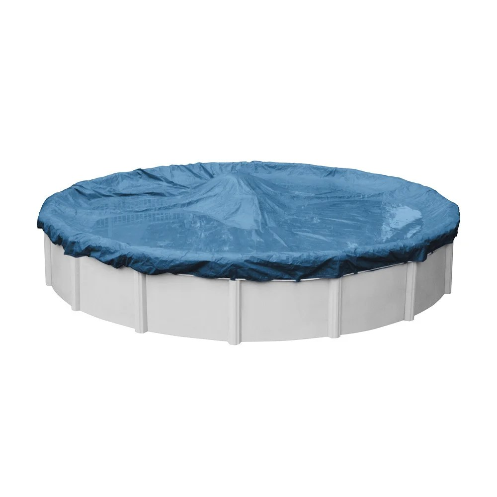 Above Ground Pool Winter Cover Robelle Super Dura Guard Winter Cover For Round Above Ground Pools