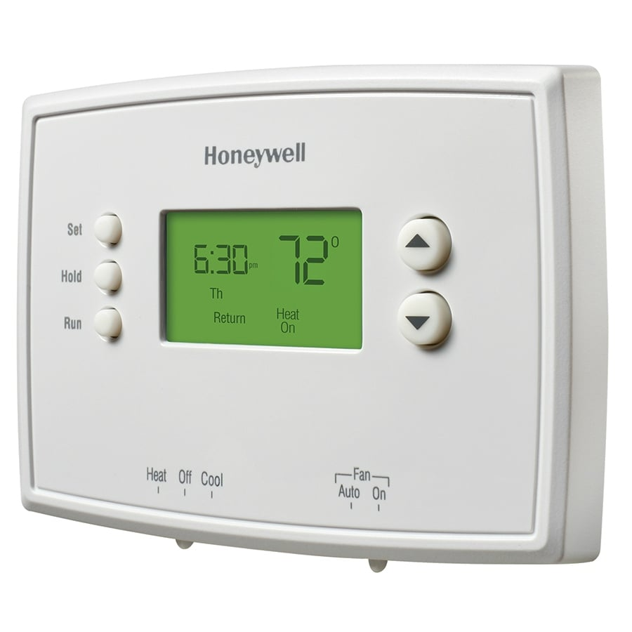 Honeywell Programmable Thermostat Honeywell Rth2510b1018 7 Day Programmable Thermostat White