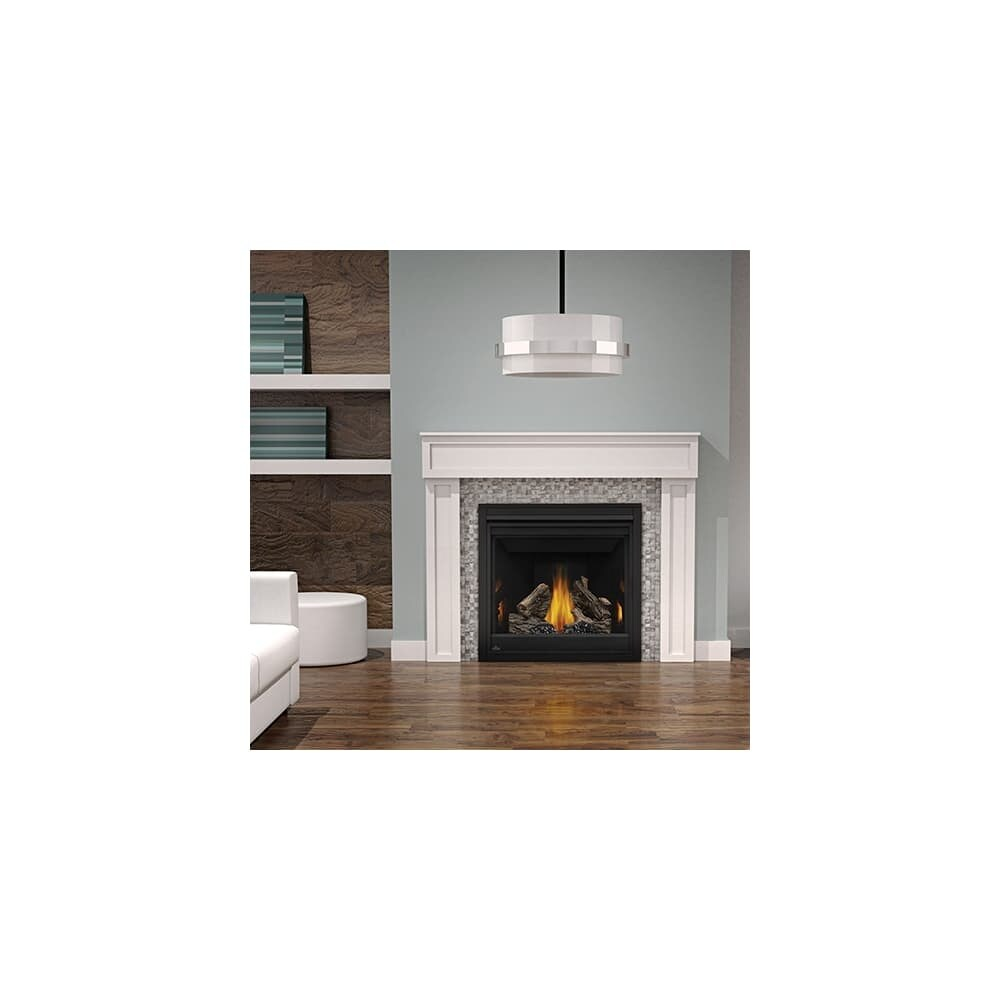 Napoleon Gas Fireplaces Napoleon B36tre 18000 Btu Built In Direct Vent Natural Gas Fireplace With Safety Barrier And Electronic Ignition From The Ascent