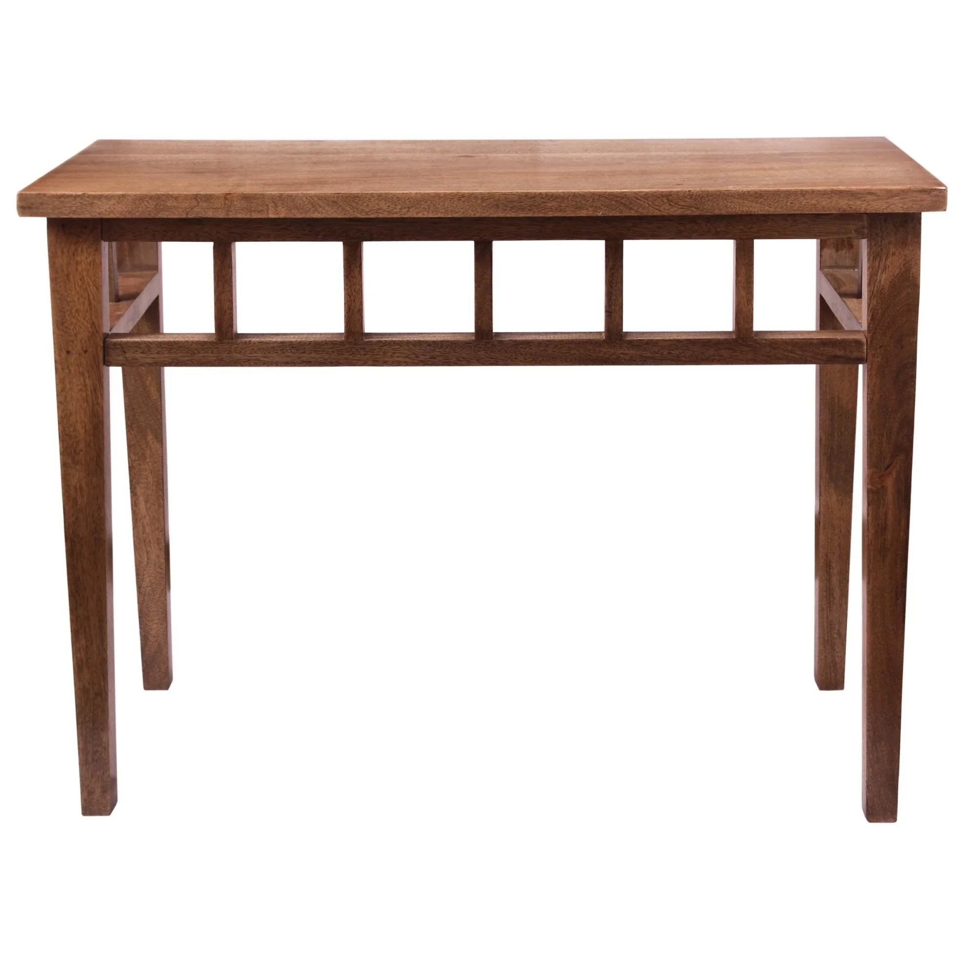 Long Wood Desk Kenroy Home 65084twal Felicity 38 Inch Long Wood Console Table