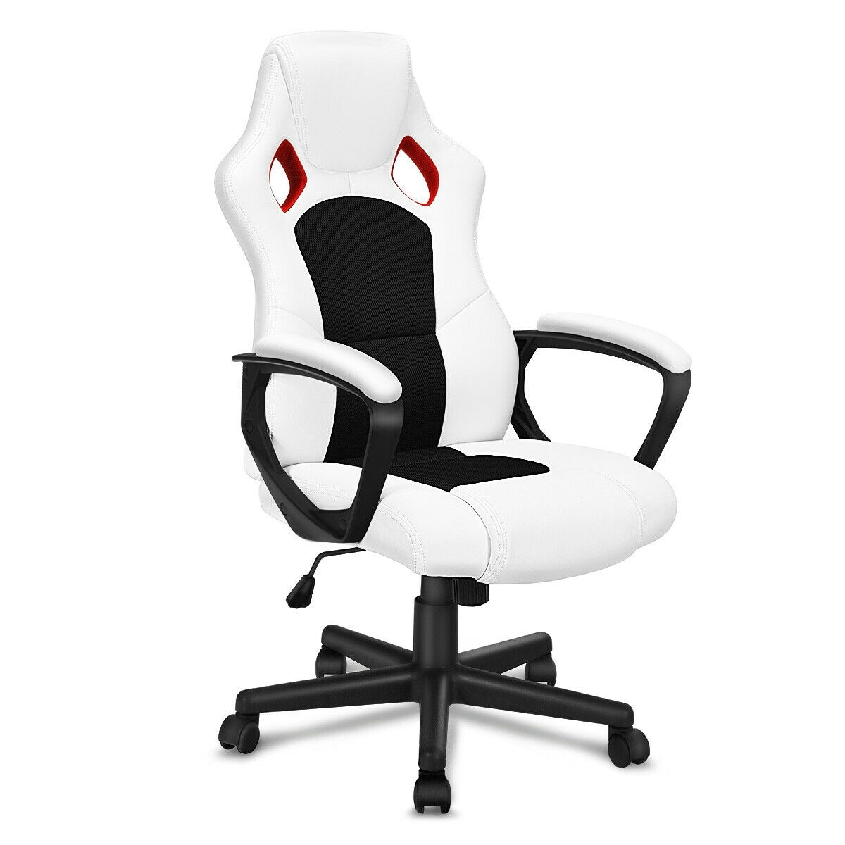 Racing Seat Office Chair Gymax Executive Racing Style High Back Bucket Seat Office Chair