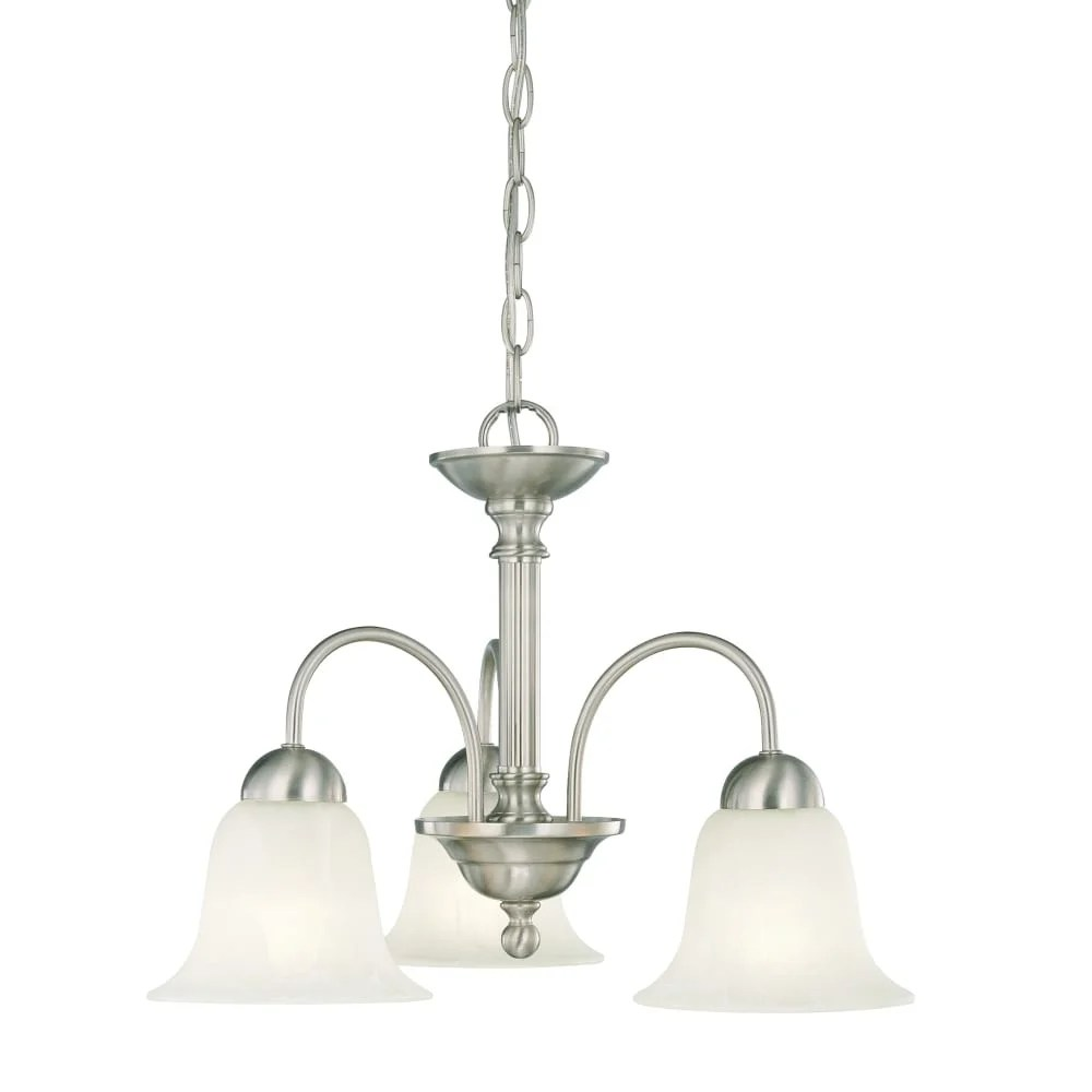 Chandelier Height 10 Foot Ceiling Thomas Lighting Sl8812 3 Light Down Lighting Chandelier From The Riva Collection