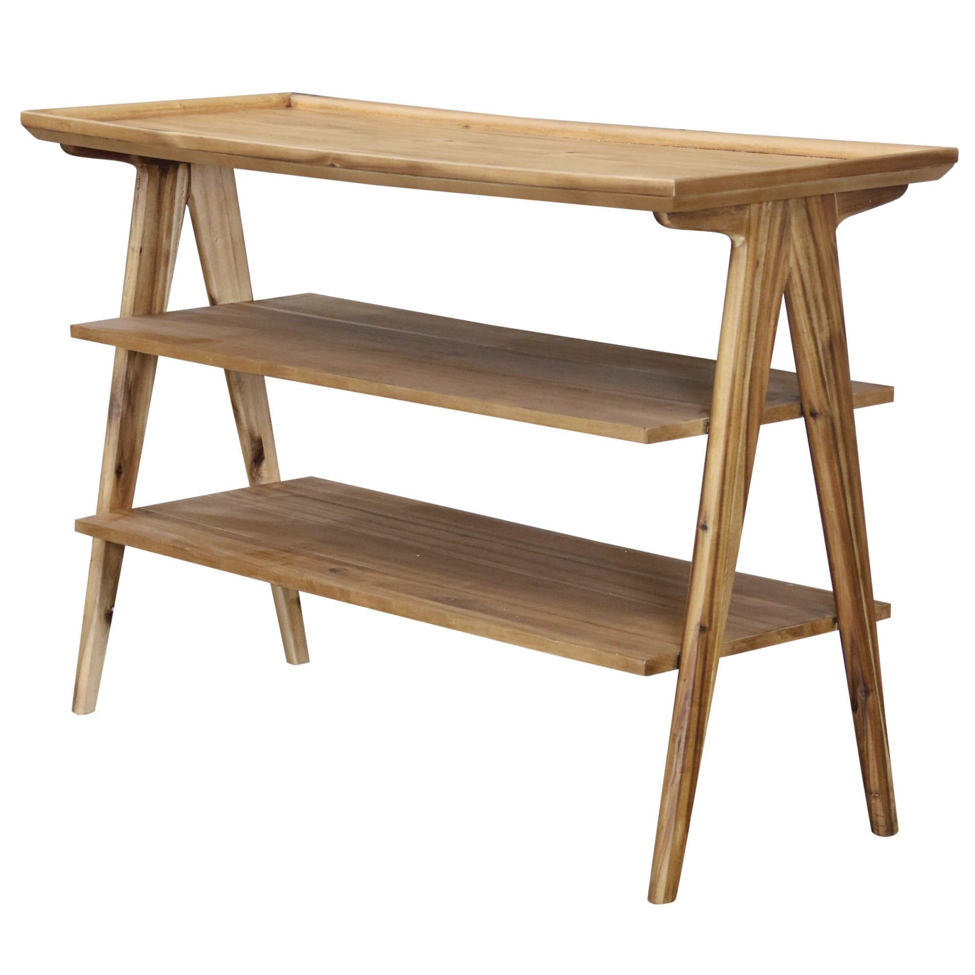Long Wood Desk Stylecraft Sc Dvg6416 48