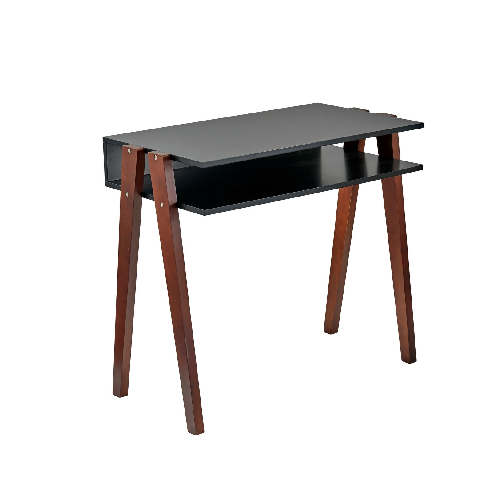 Long Wood Desk Adesso Wk3012 Laurel 34