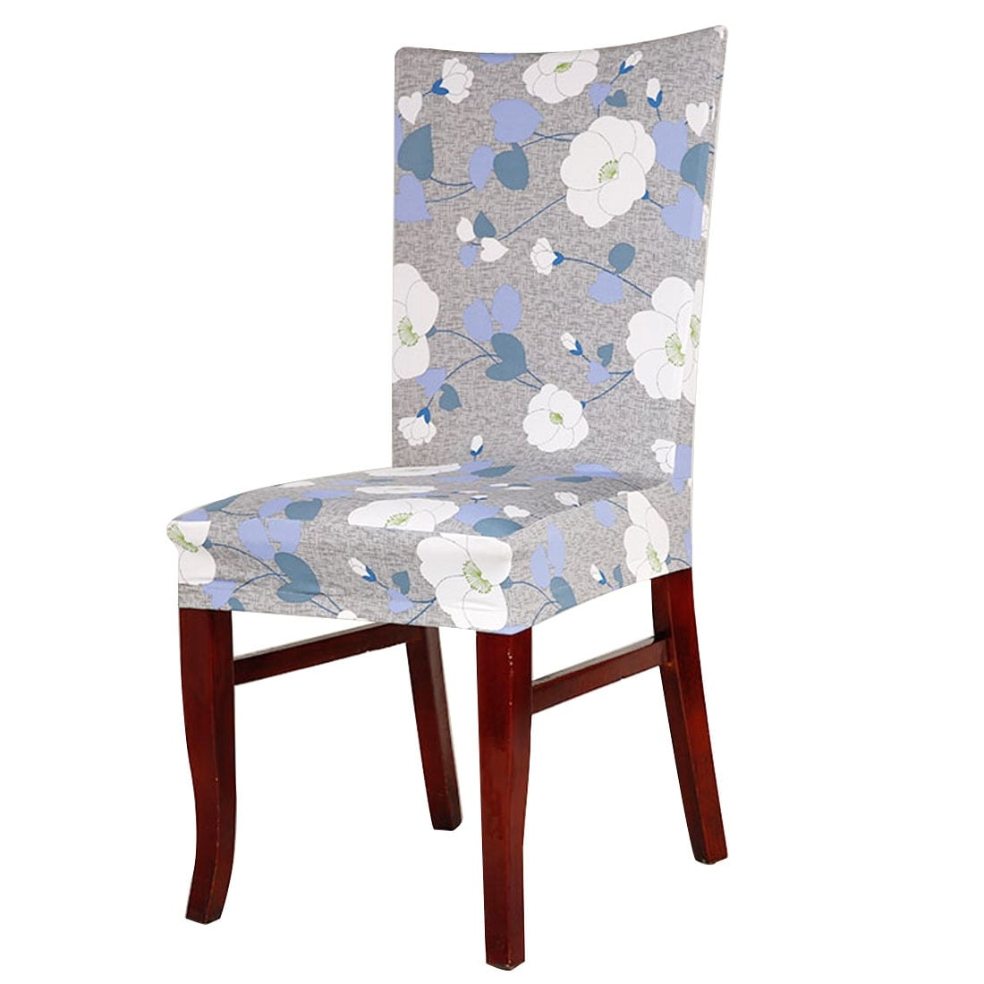 Chair Cover Stretch Spandex Short Seat Slipcover Dining Chair Cover